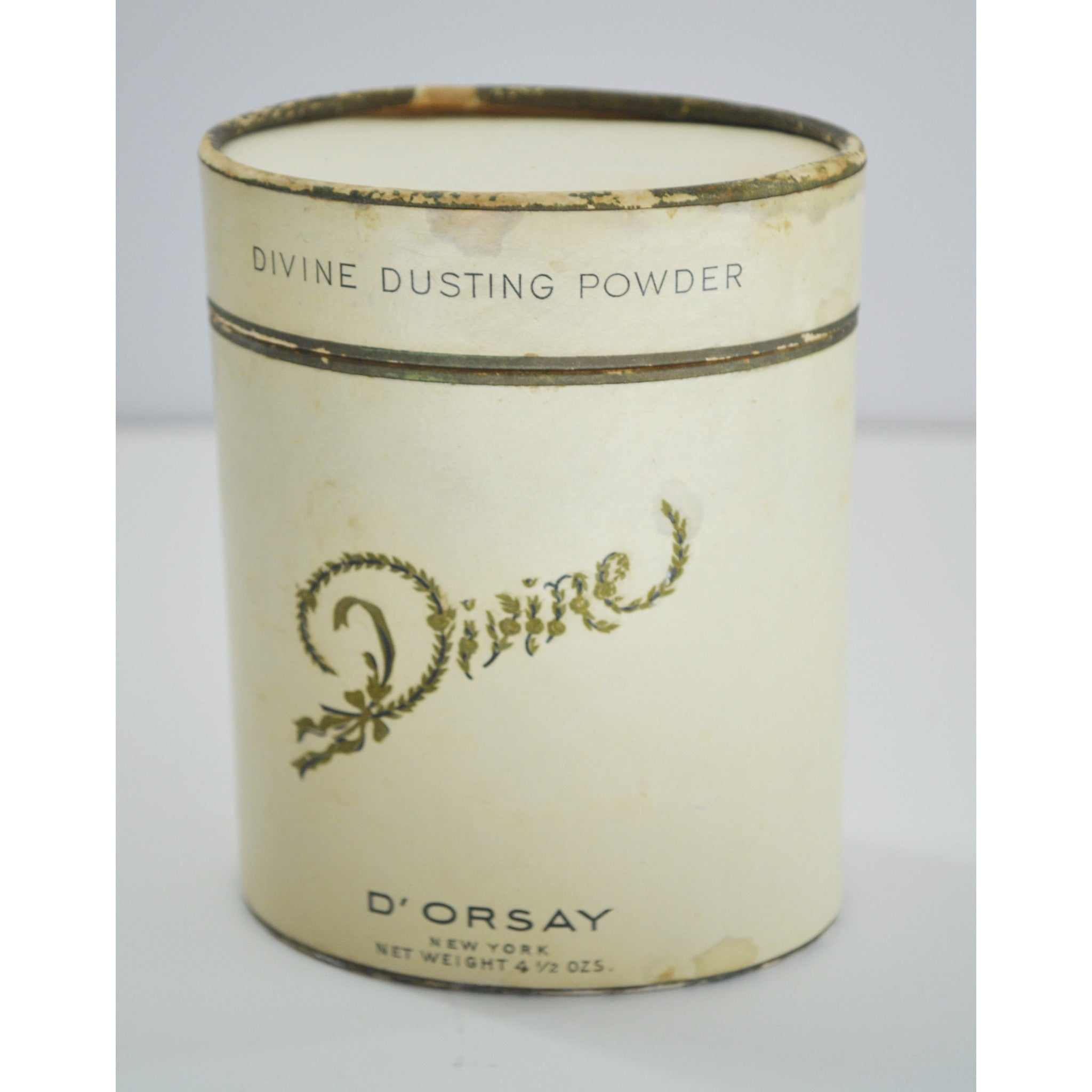 Vintage Divine Dusting Powder By D'Orsay