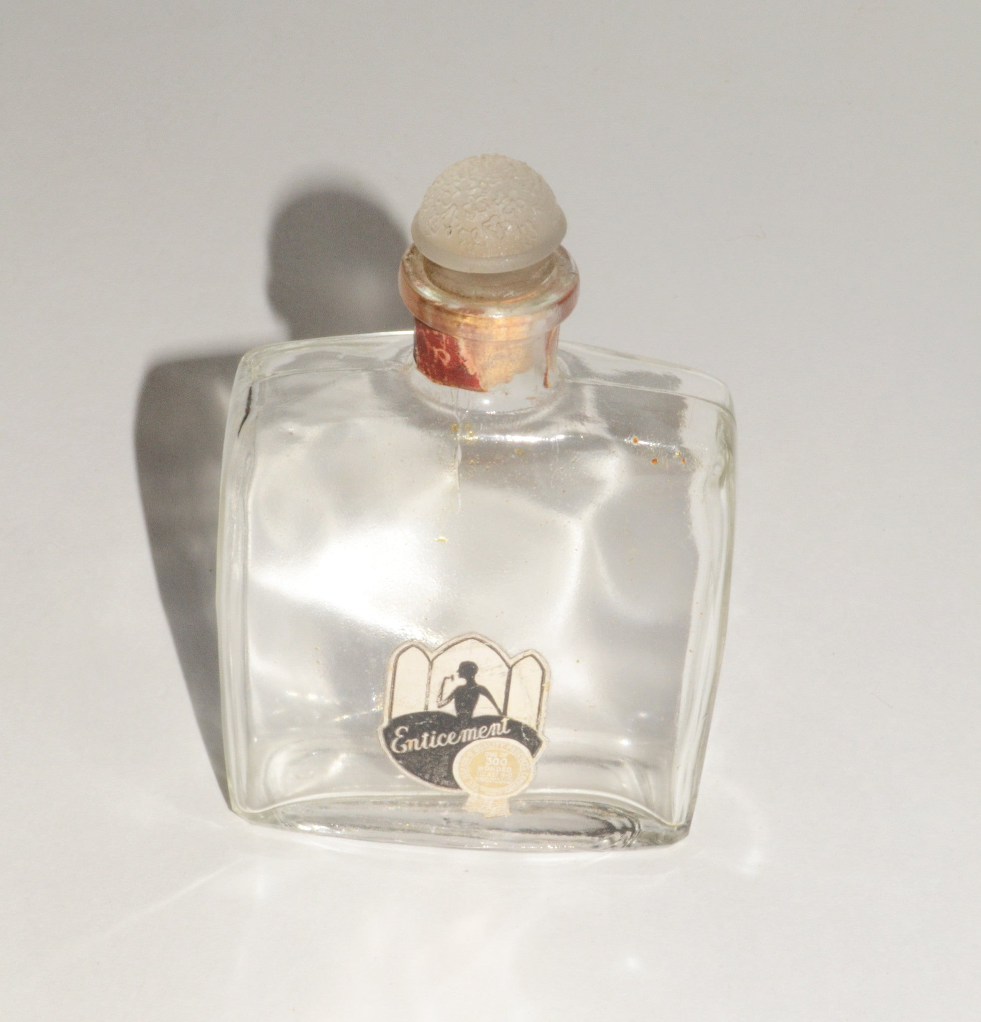Vintage Enticement Perfume Bottle