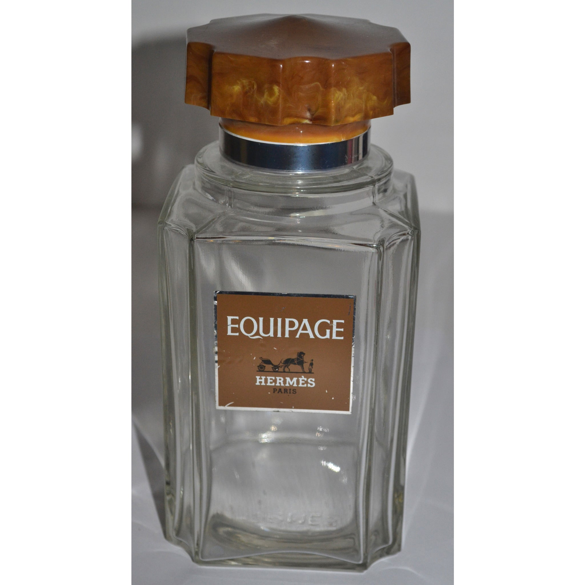 Vintage Equipage Factice Display Bottle By Hermés