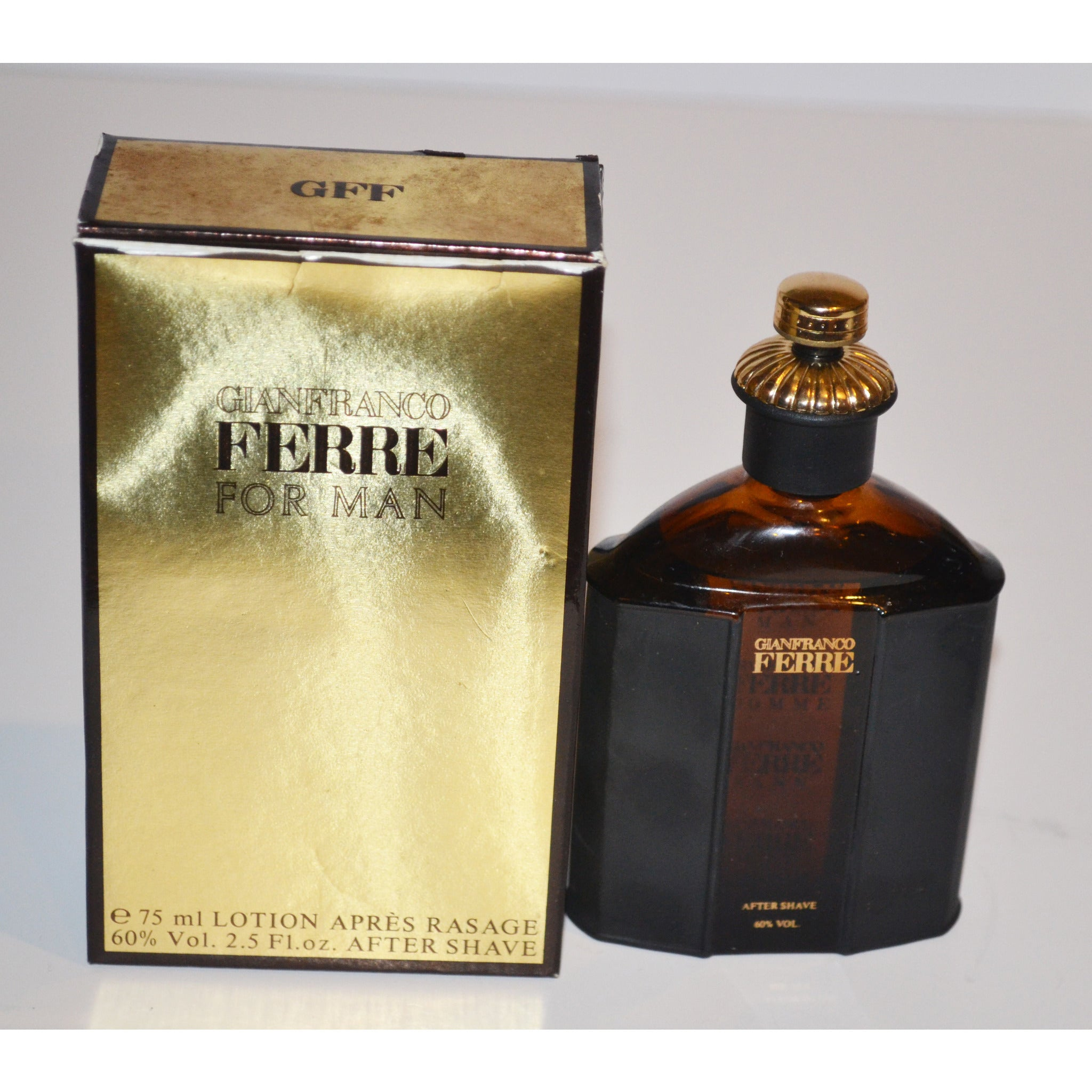 Vintage Ferre After Shave By Gianfranco