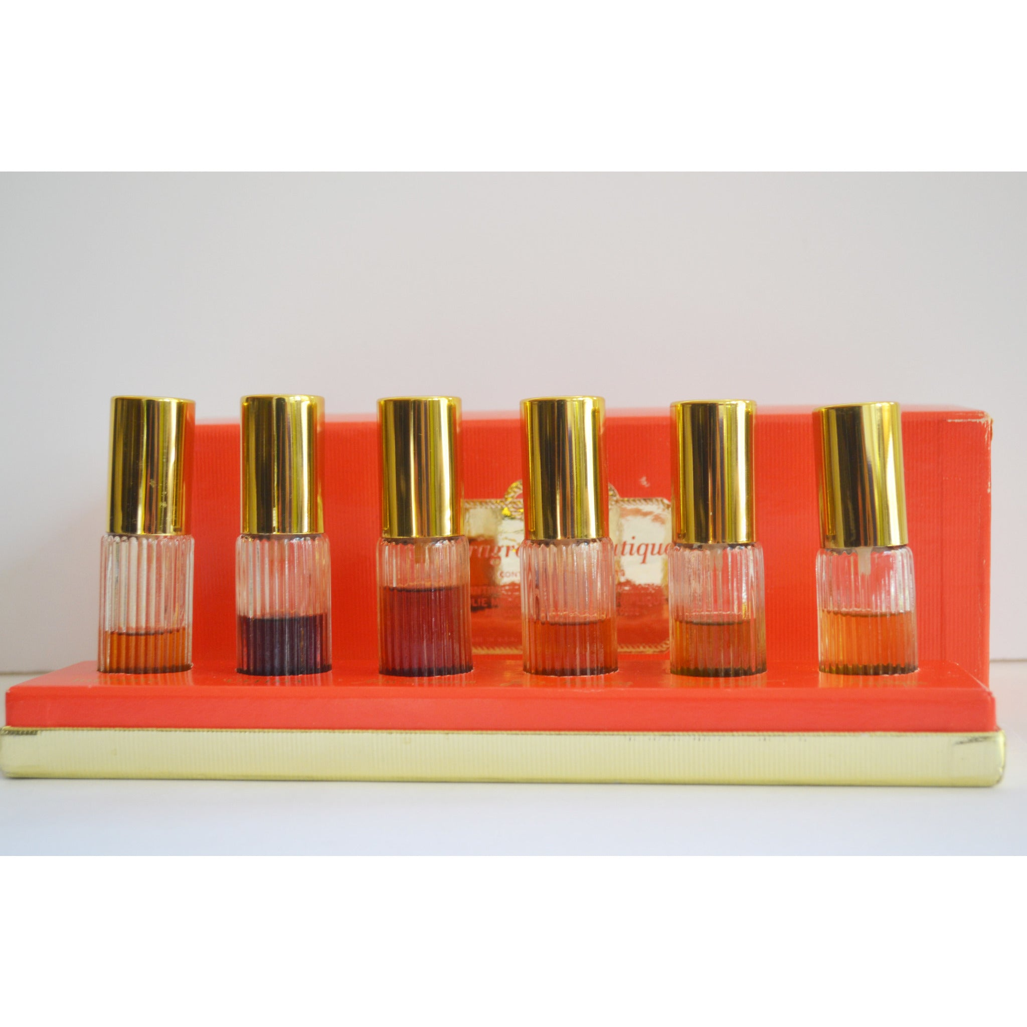 Vintage Revlon- Balmain- Raphael Fragrance Boutique Set