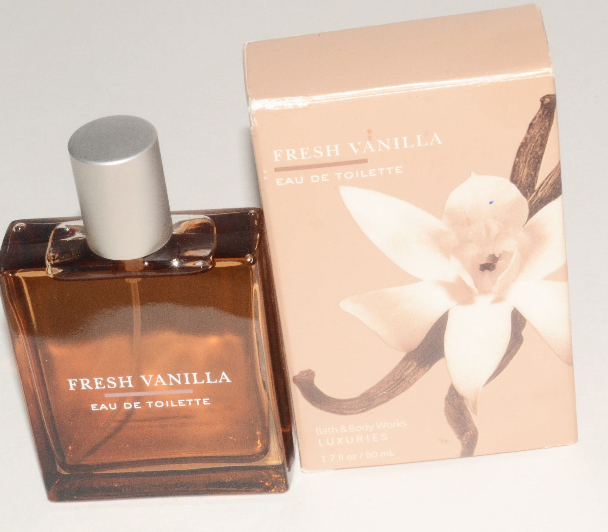 Discontinued Fresh Vanilla Eau De Toilette By Bath & Body Works