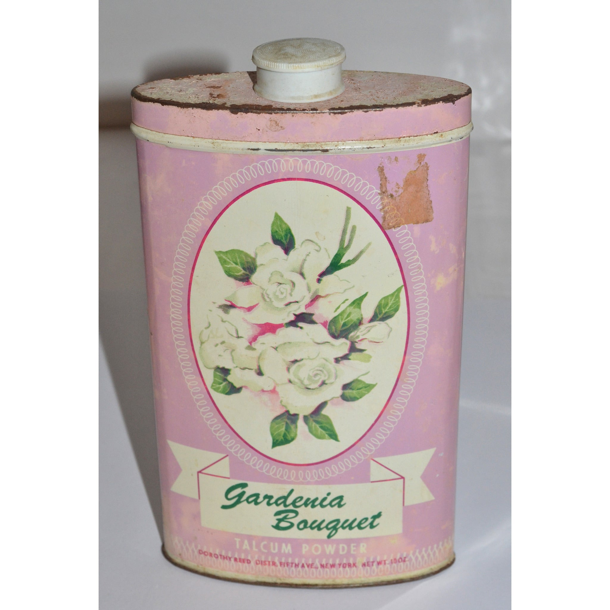 Vintage Gardenia Bouquet Powder By Dorothy Reed