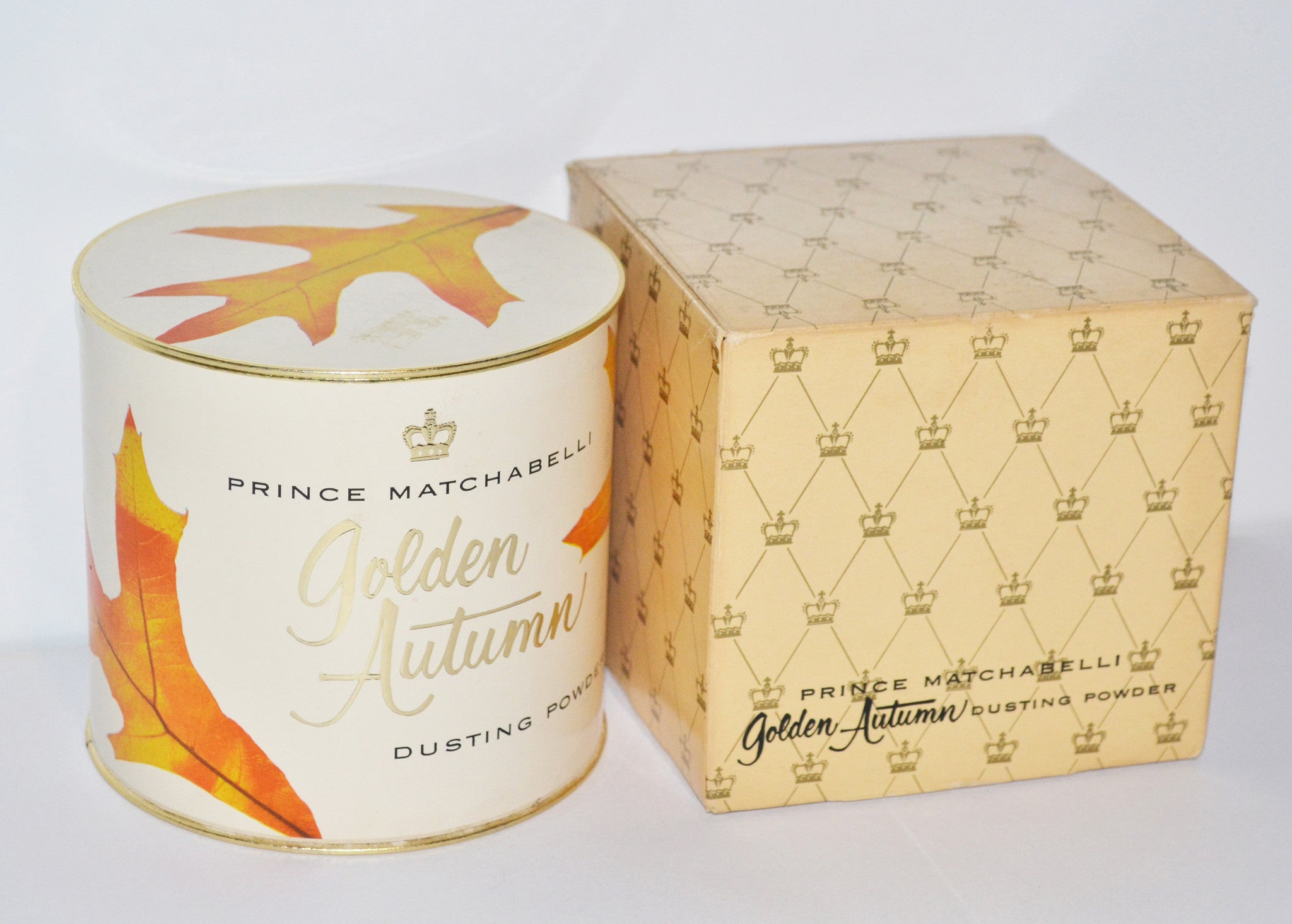 Prince Matchabelli Golden Autumn Perfume Dusting Powder