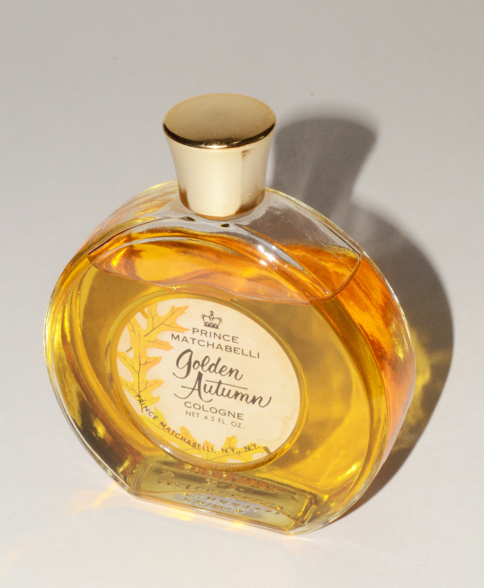 Vintage Golden Autumn Cologne By Prince Matchabelli
