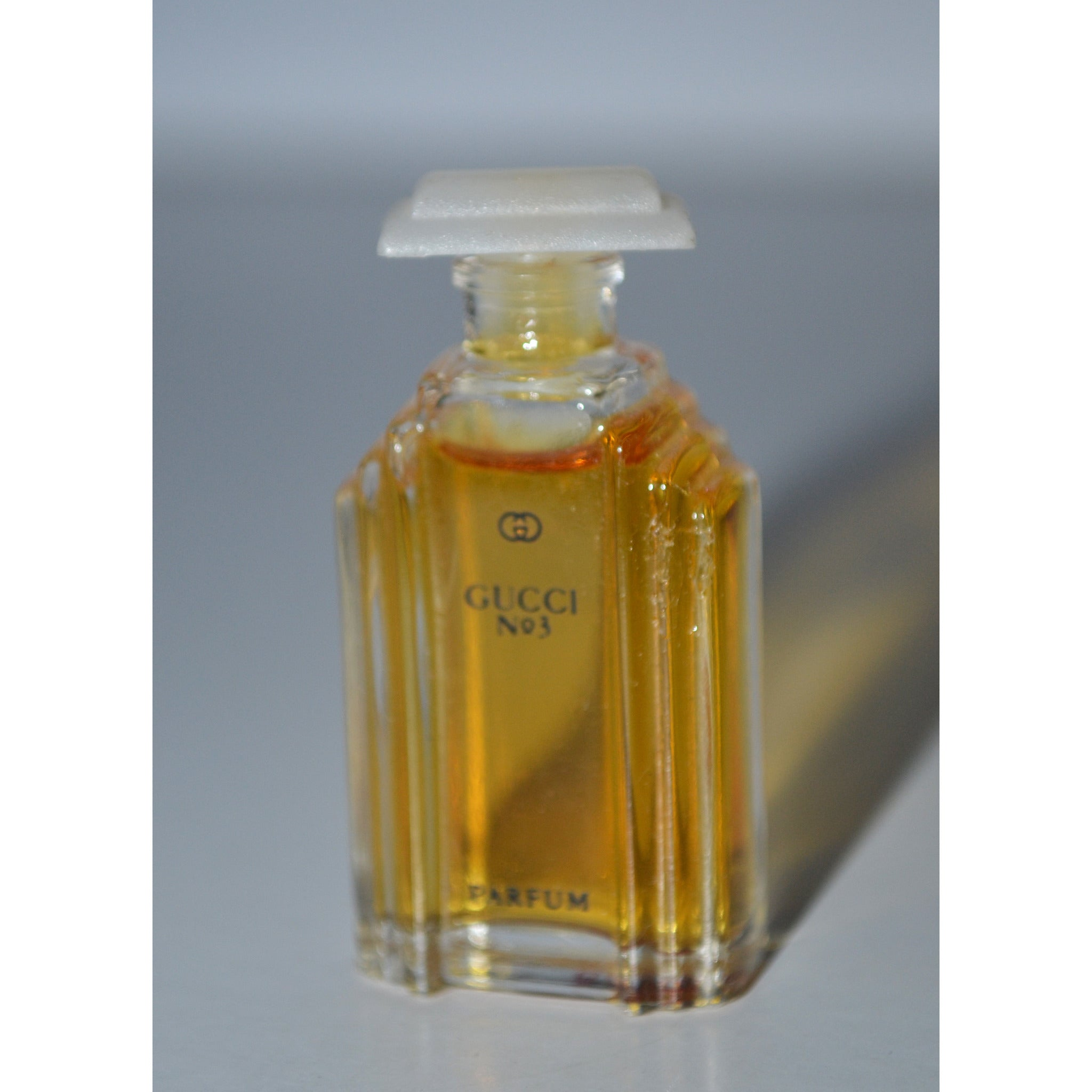 Vintage Gucci No 3 Parfum Mini