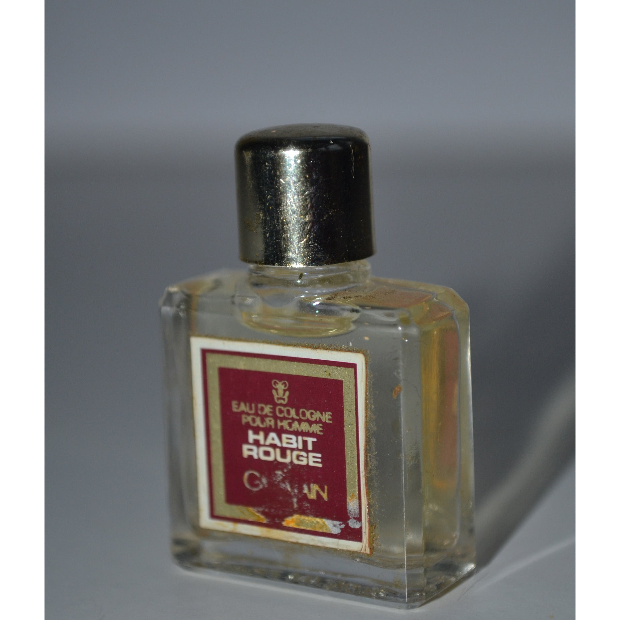 Vintage Habit Rouge Eau De Cologne Mini By Guerlain Quirky Finds