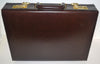 Vintage Halston Leather Attache Briefcase