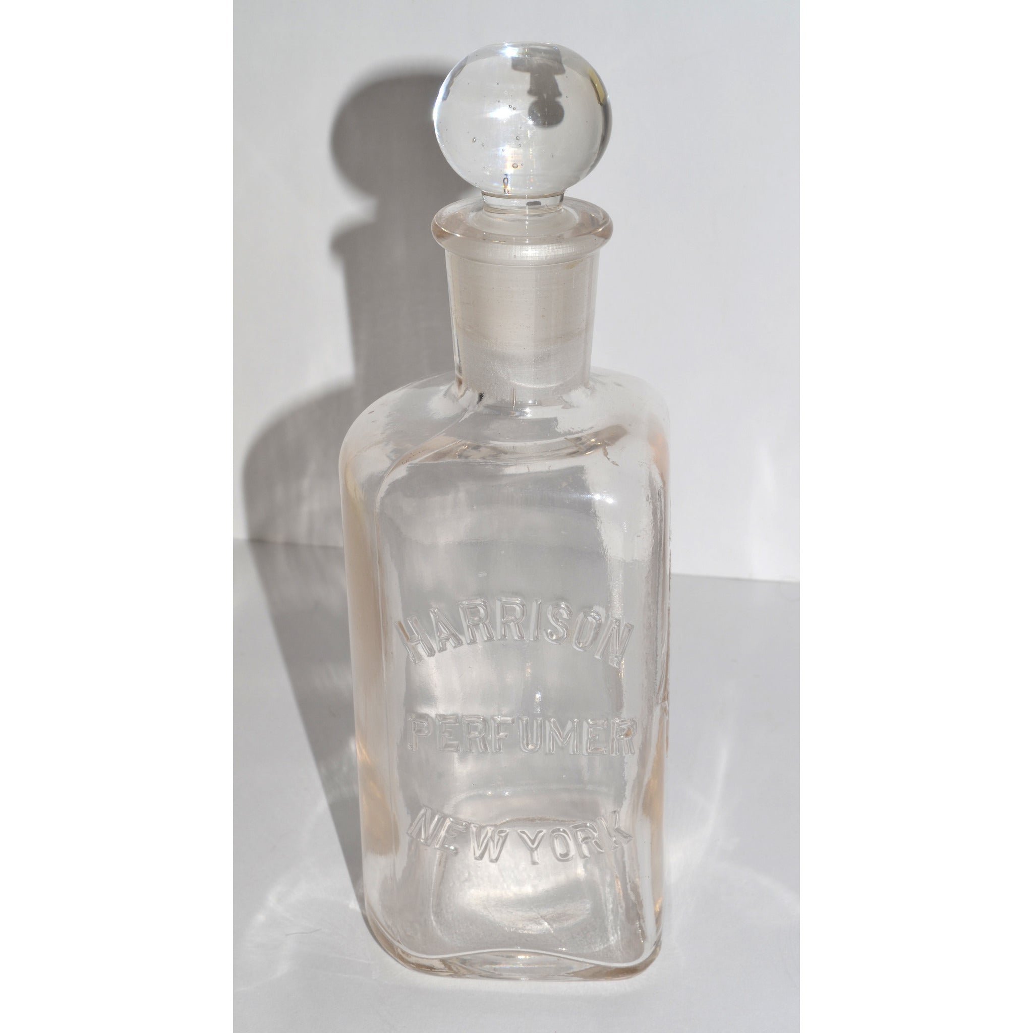 Antique Harrison Perfumer Apothecary Bottle