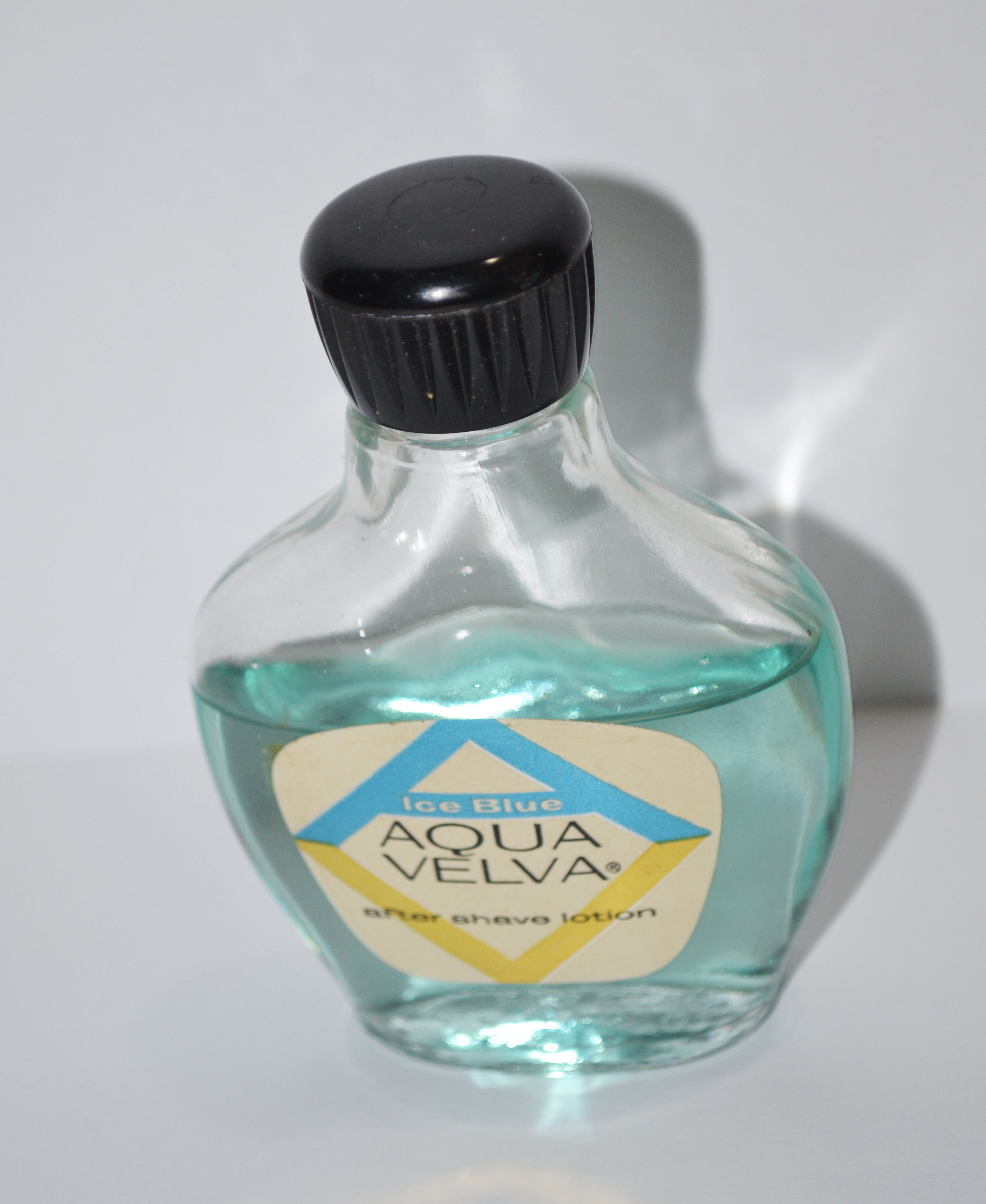 Vintage Ice Blue After Shave By Aqua Velva