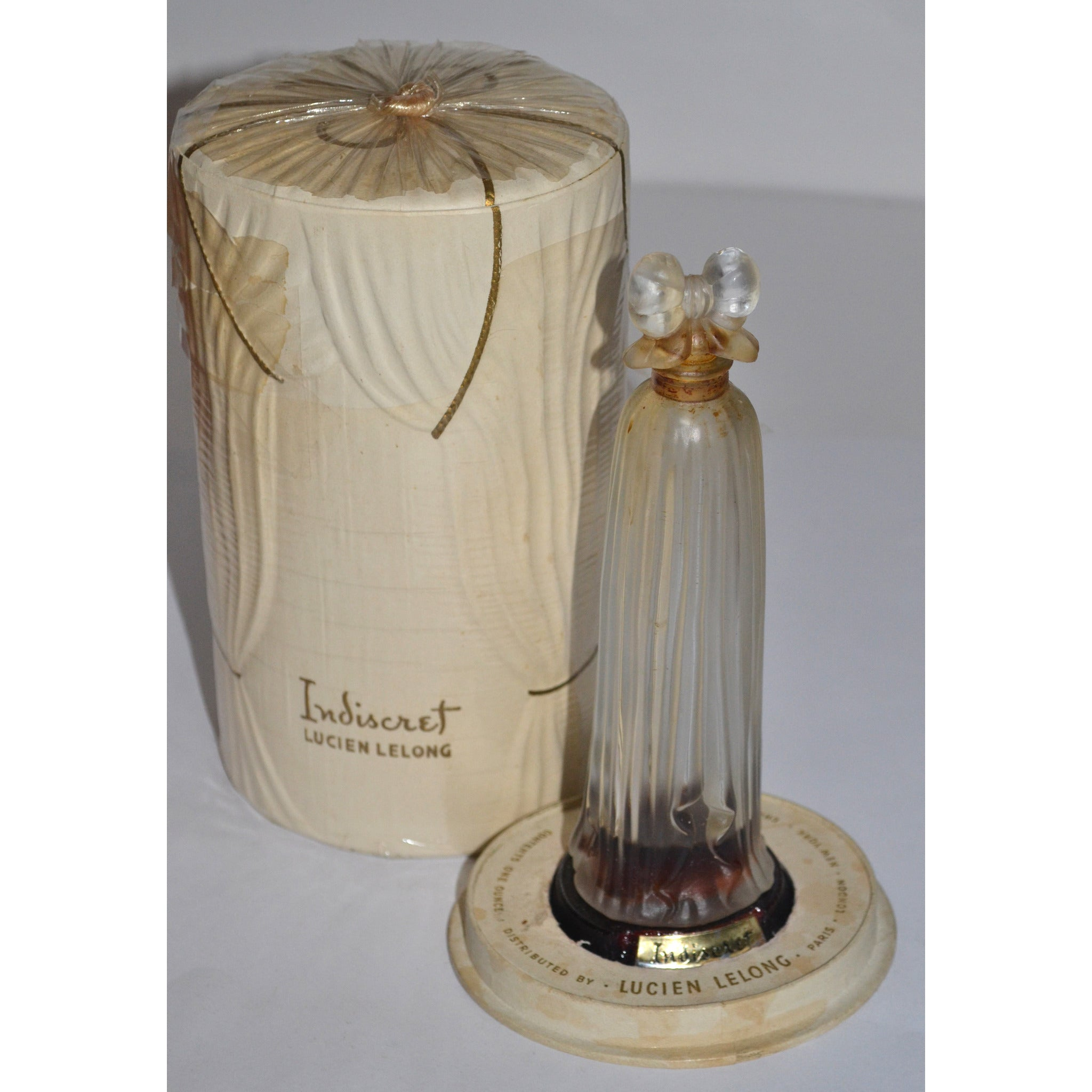 Vintage Indiscret Perfume By Lucien Lelong
