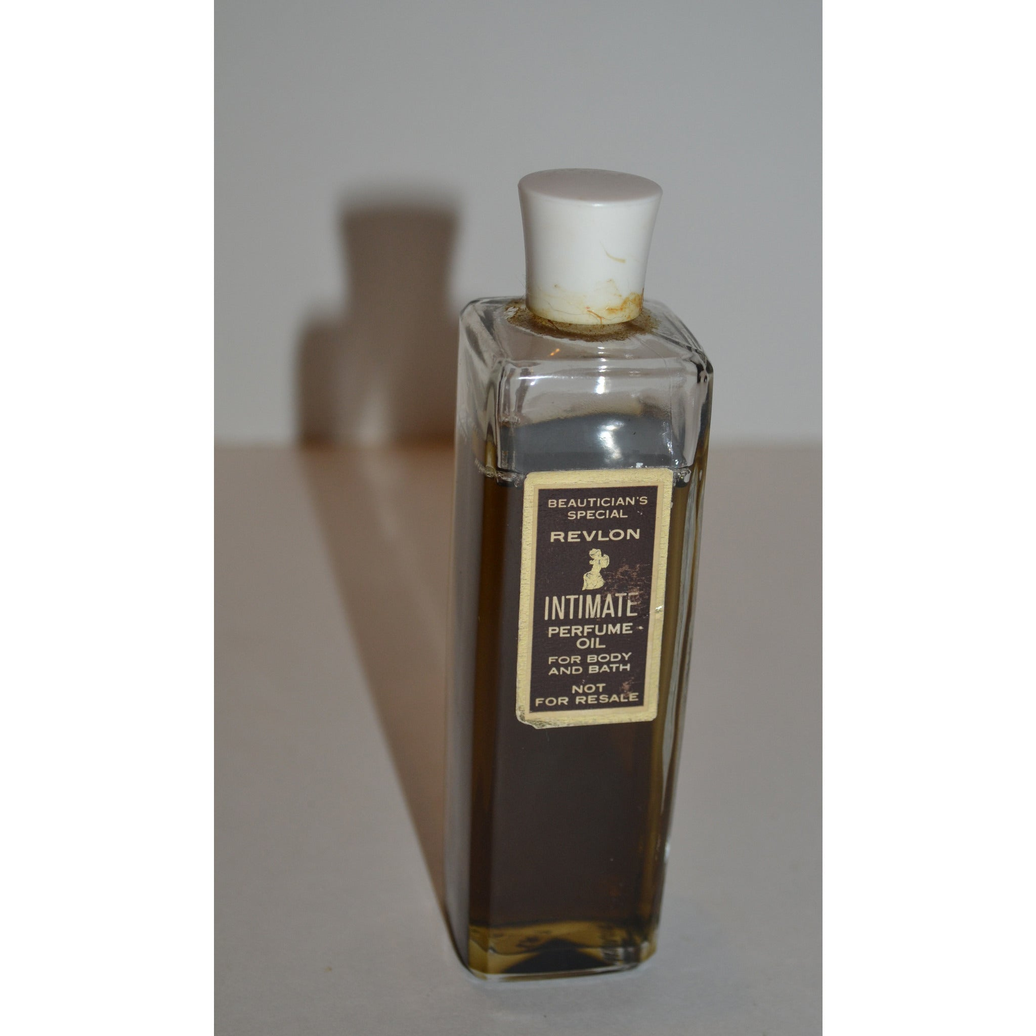 Vintage Intimate Perfume Oil By Revlon
