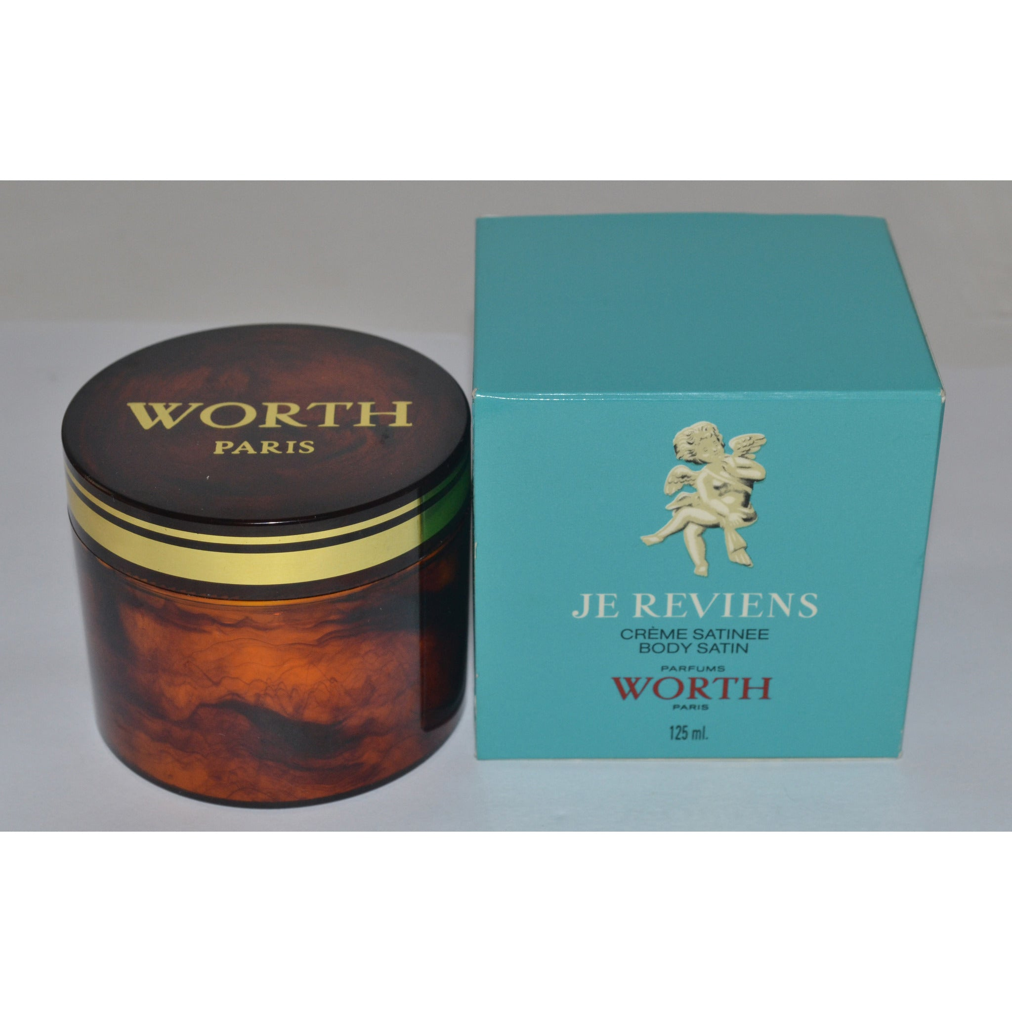 Vintage Je Reviens Body Satin Creme By Worth