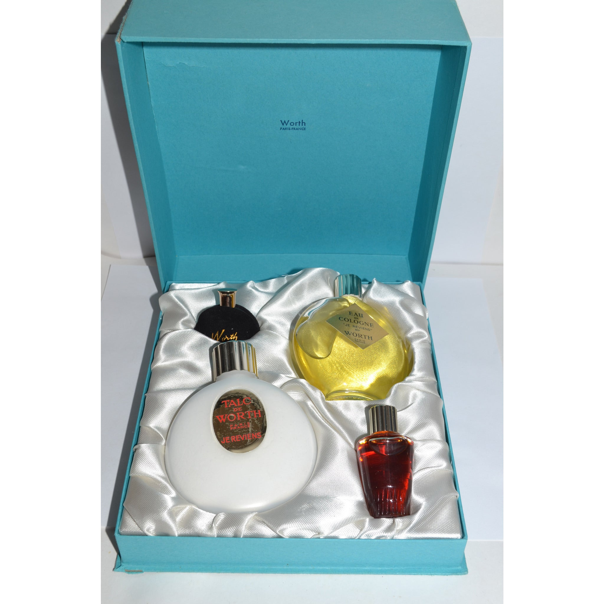 Vintage Je Reviens Perfume Set By Worth