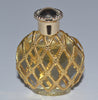 Vintage L'Air Du Temps Filigree Caged Perfume Mini By Nina Ricci
