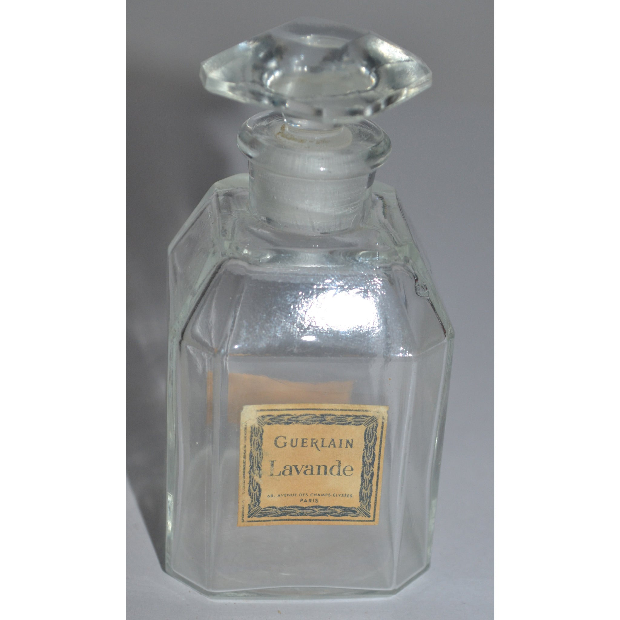 Vintage Lavande Perfume Bottle By Guerlain