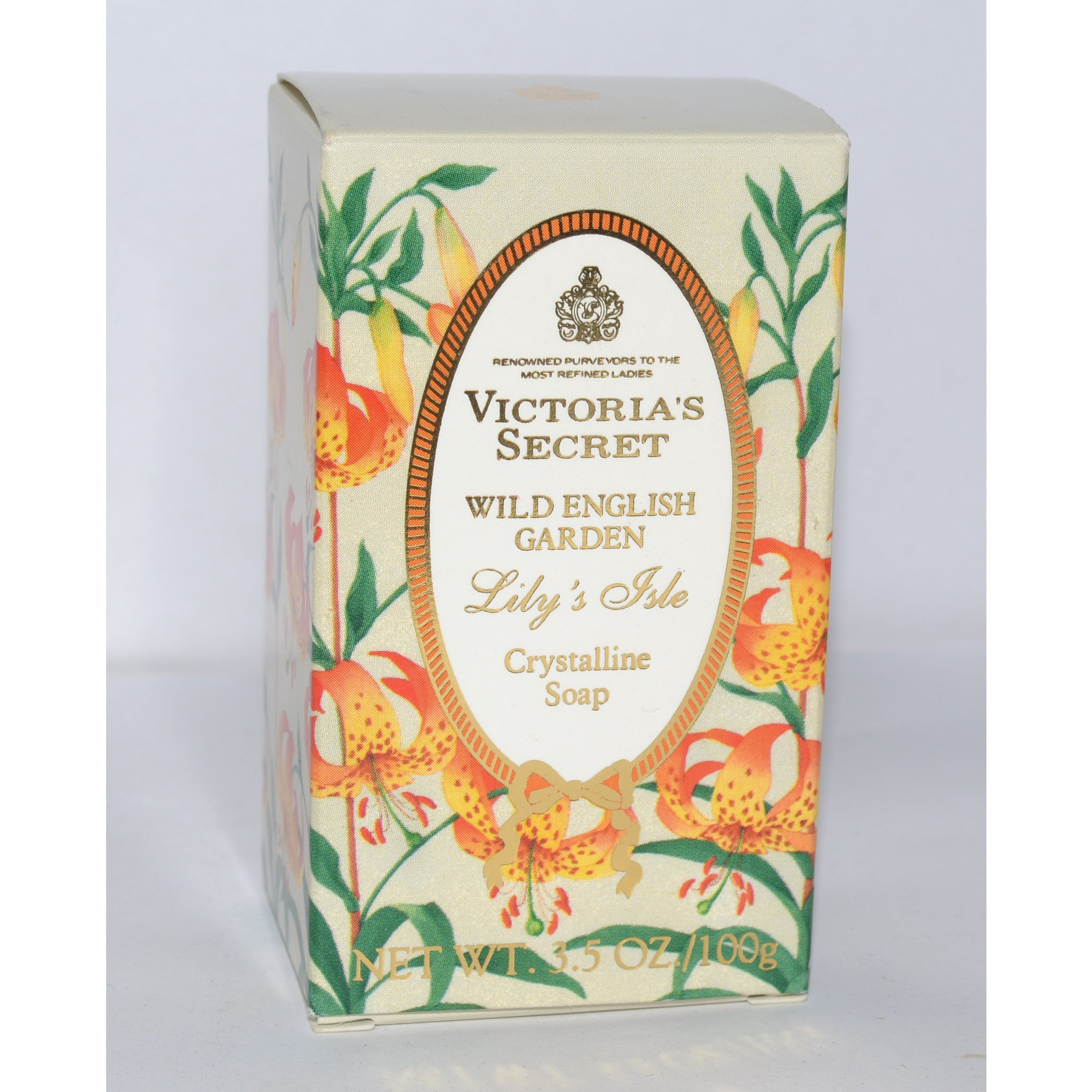 Vintage Garden Lily's Soap By Victoria's Secret