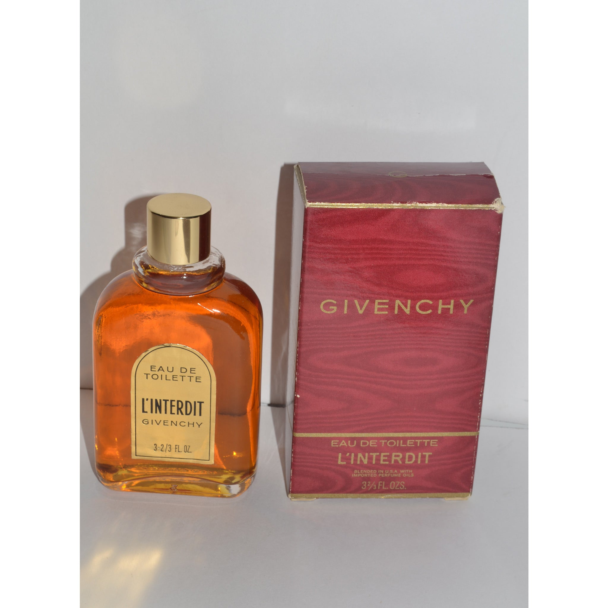 Vintage L'Interdit Eau De Toilette By Givenchy