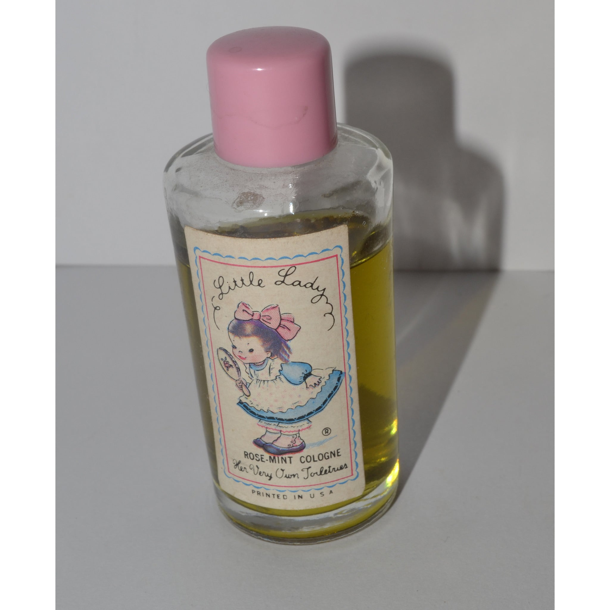 Vintage Little Lady Rose-Mint Cologne By Helen Pessl