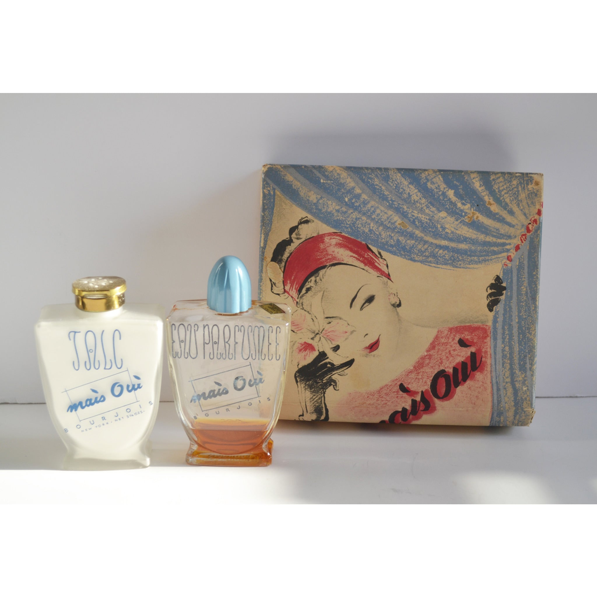 Vintage Mais Oui Coffret Set By Bourjois
