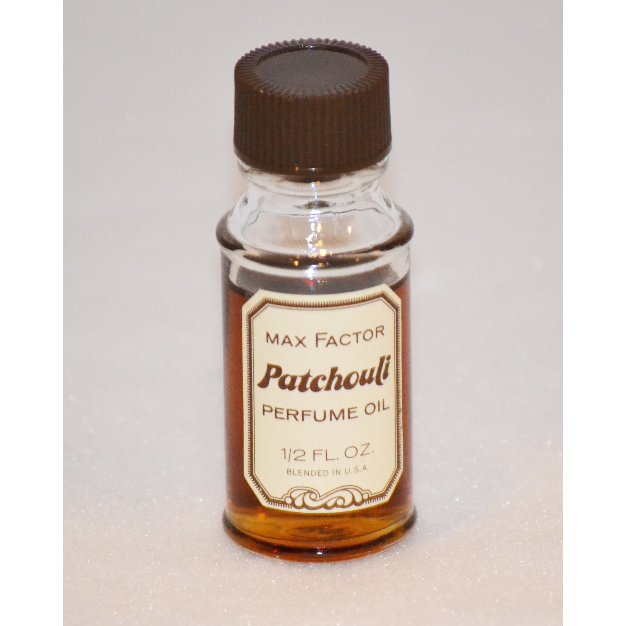 Vintage Patchouli Perfume Oil By Max Factor