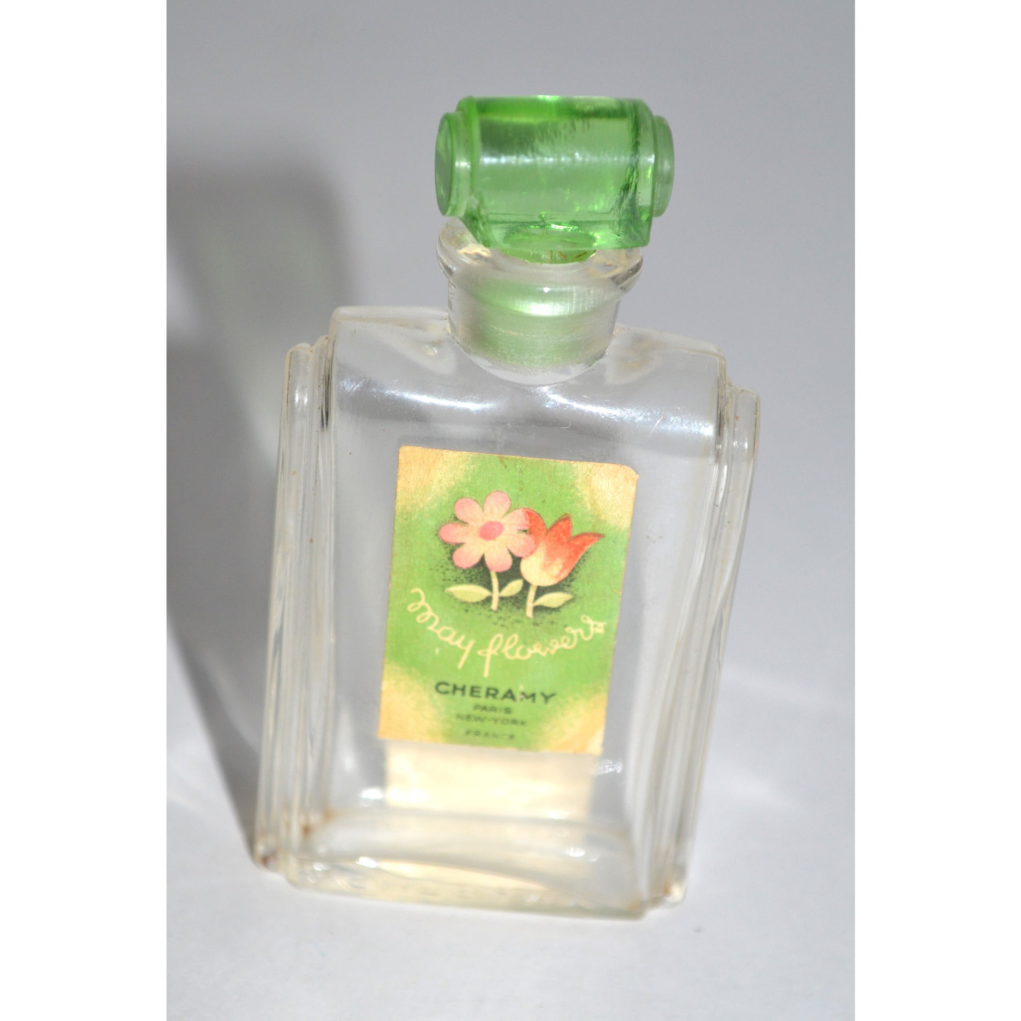 Vintage May Flower Perfume Bottle By Cheramy