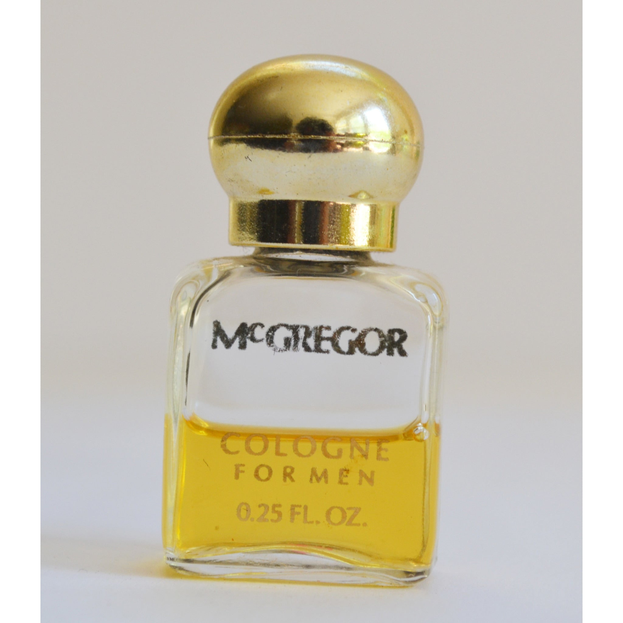 Vintage McGregor Cologne Mini By Faberge