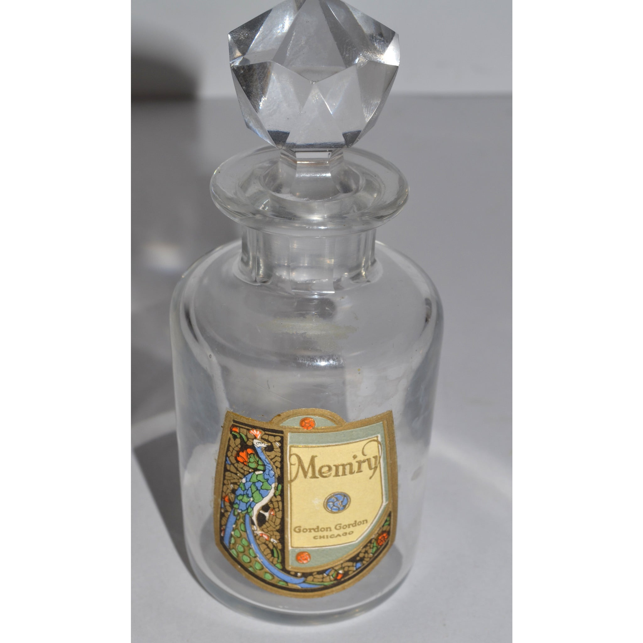 Antique Mem'ry Perfume Bottle By Gordon Gordon