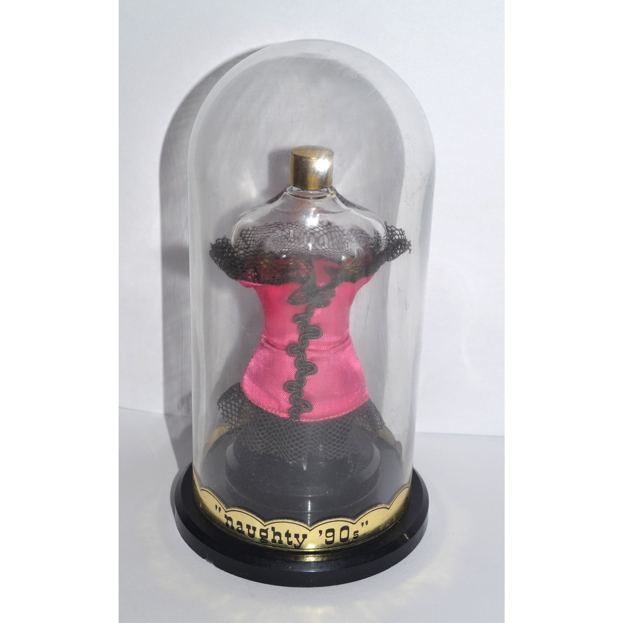 Vintage Naughty 90's Perfume Bottle By Milart