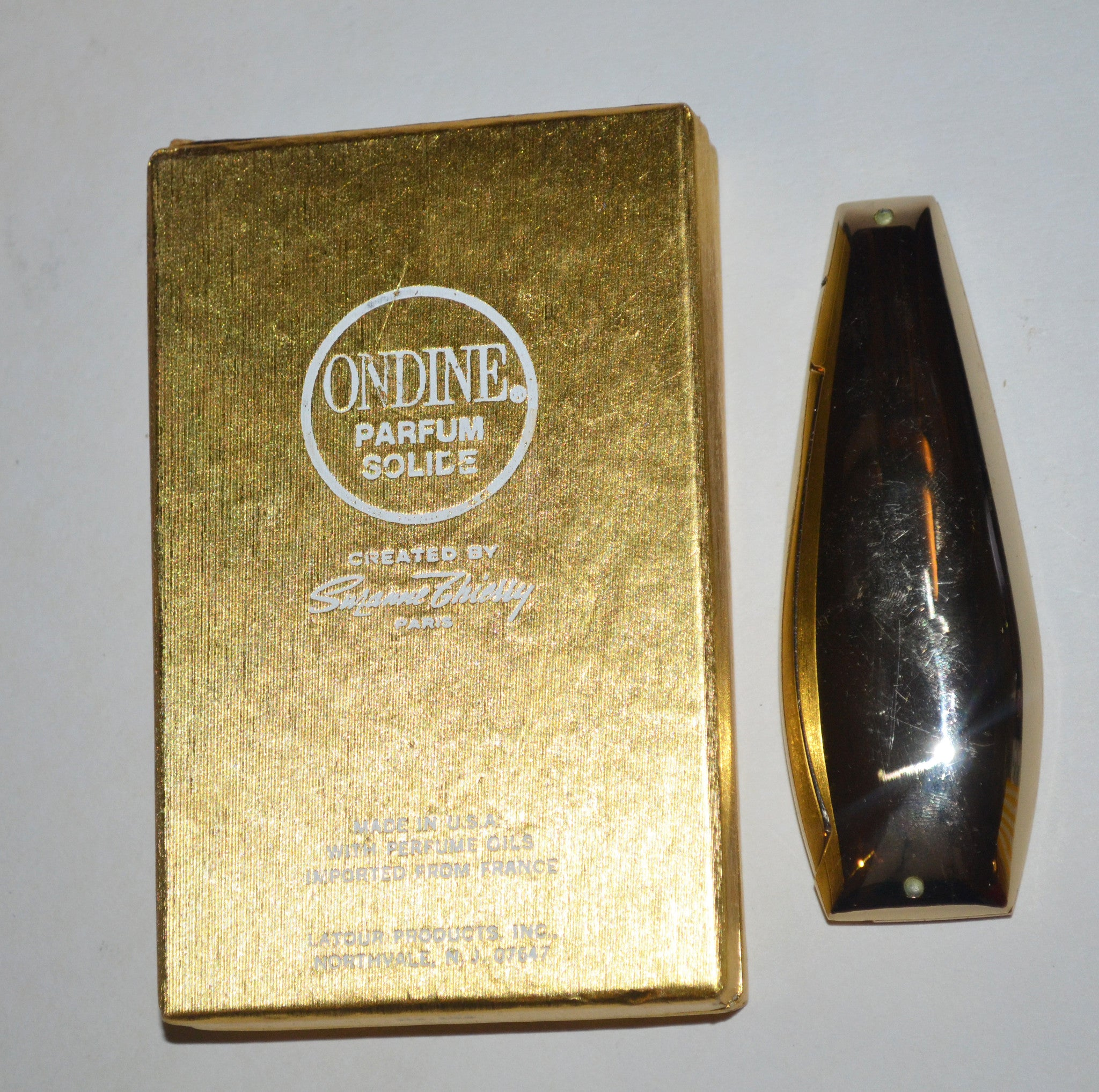 Vintage Odine Solid Parfum By Suzanne Thierry