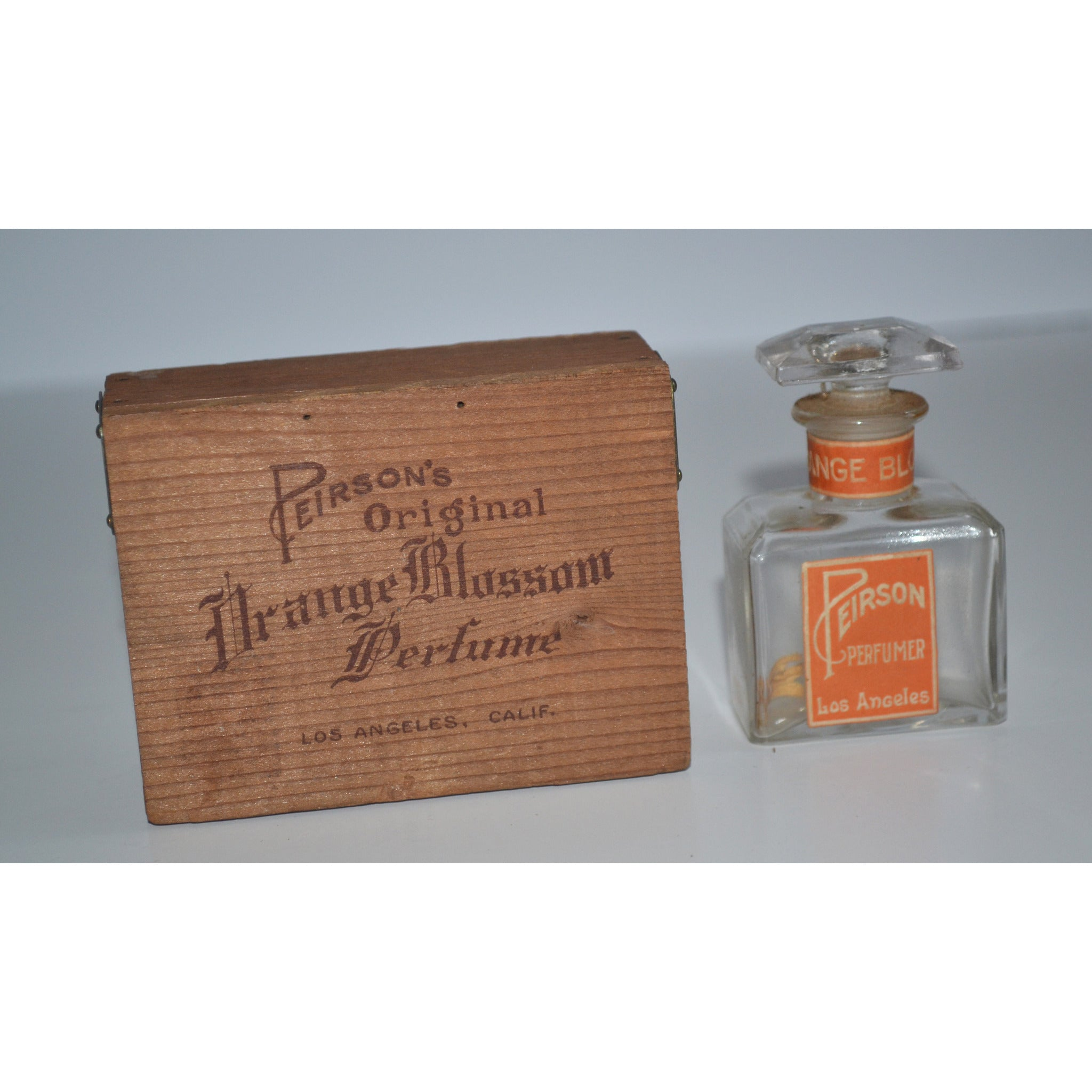 Vintage Orange Blossom Perfume By Peirson's