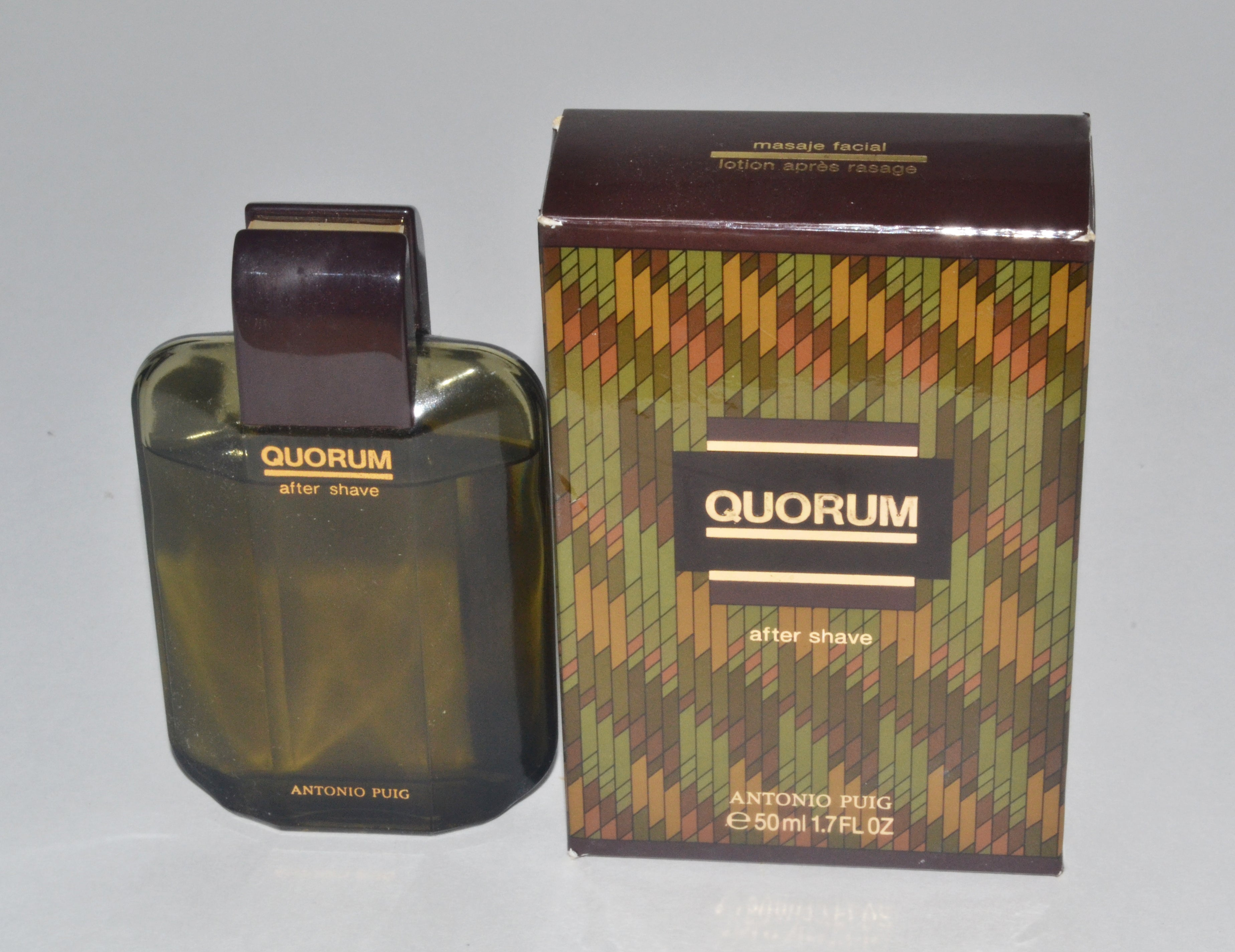 Vintage Quorum After Shave By Antonio Puig Circa 1993
