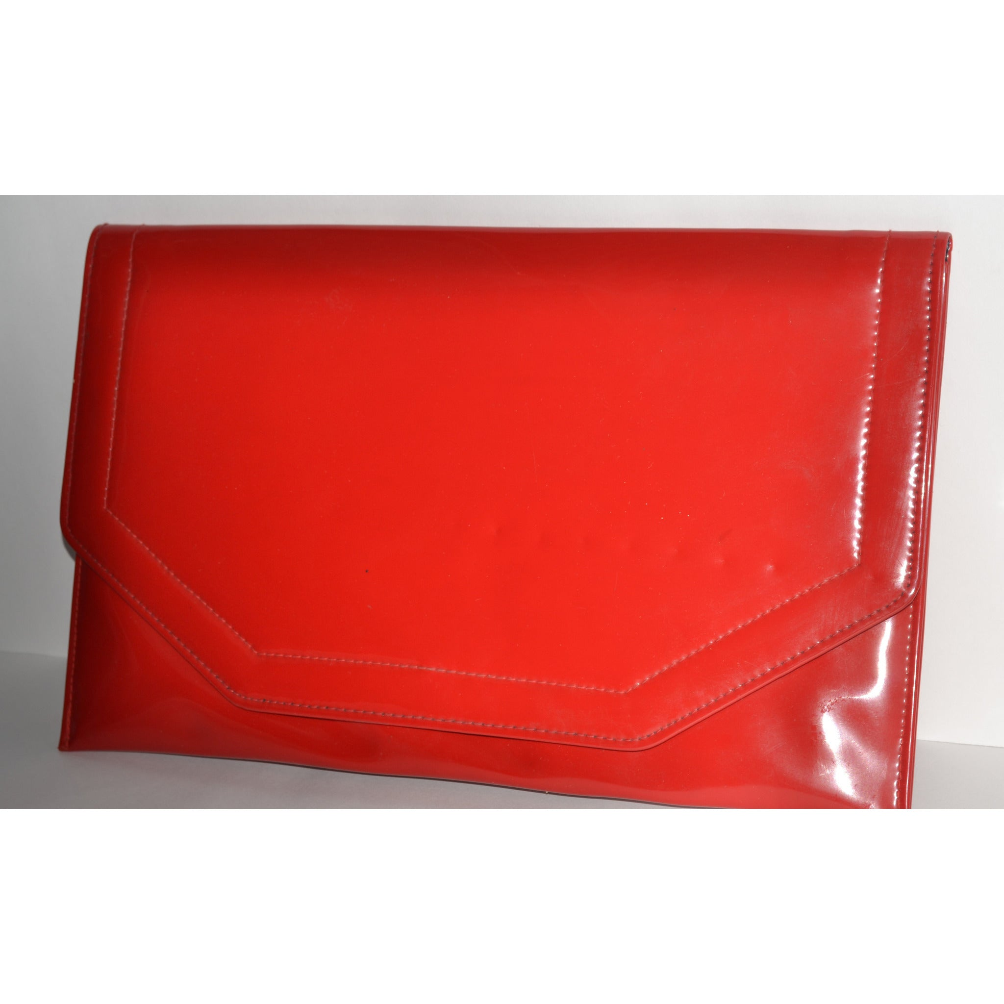 Vintage Red Envelope High Gloss Purse By HL