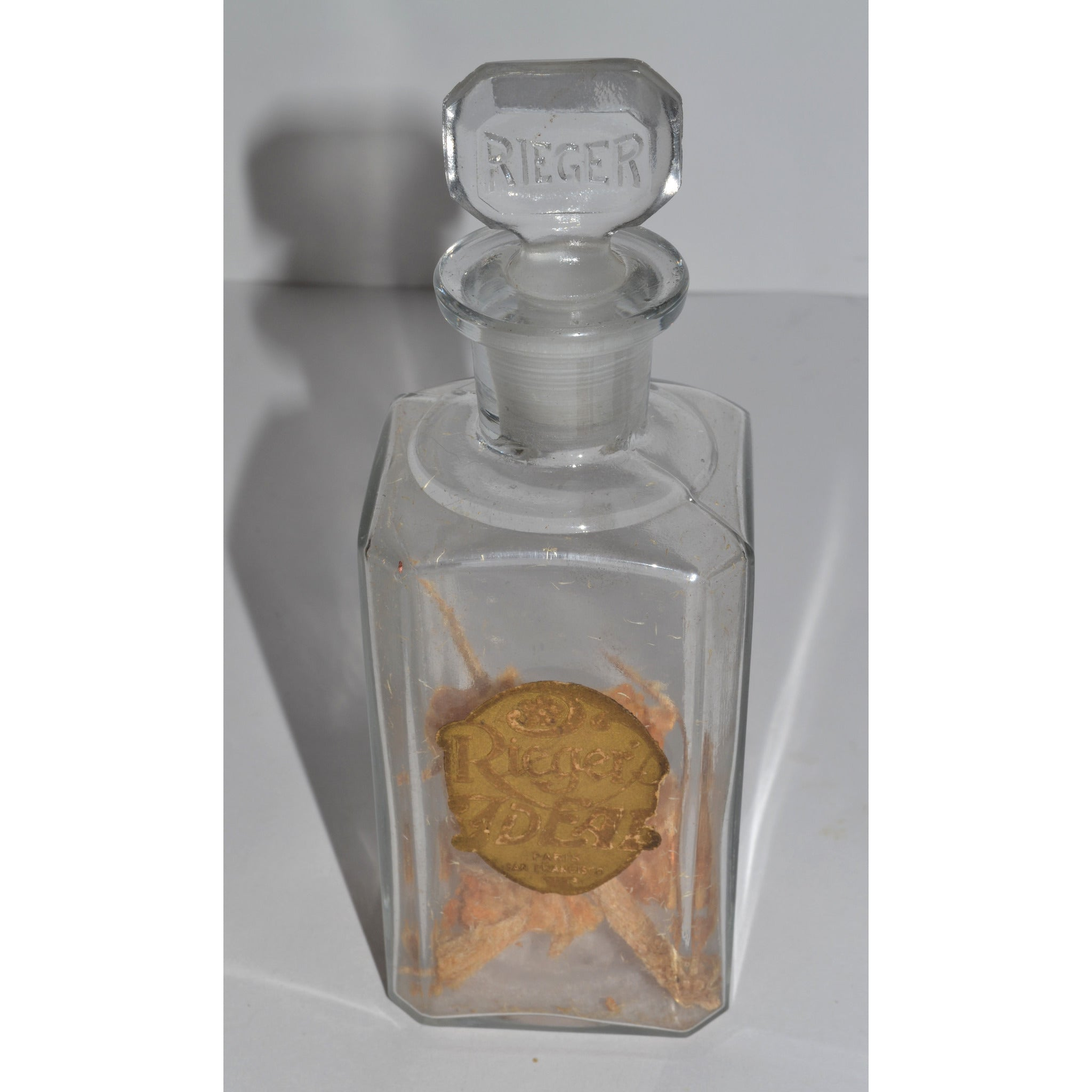 Antique Ideal Perfume Bottle By Rieger