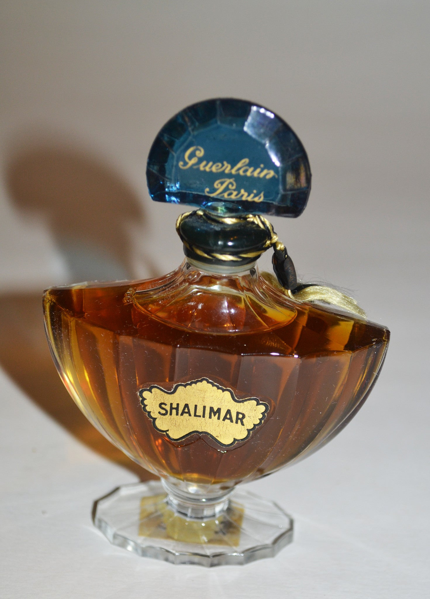 Vintage Shalimar Perfume By Guerlain