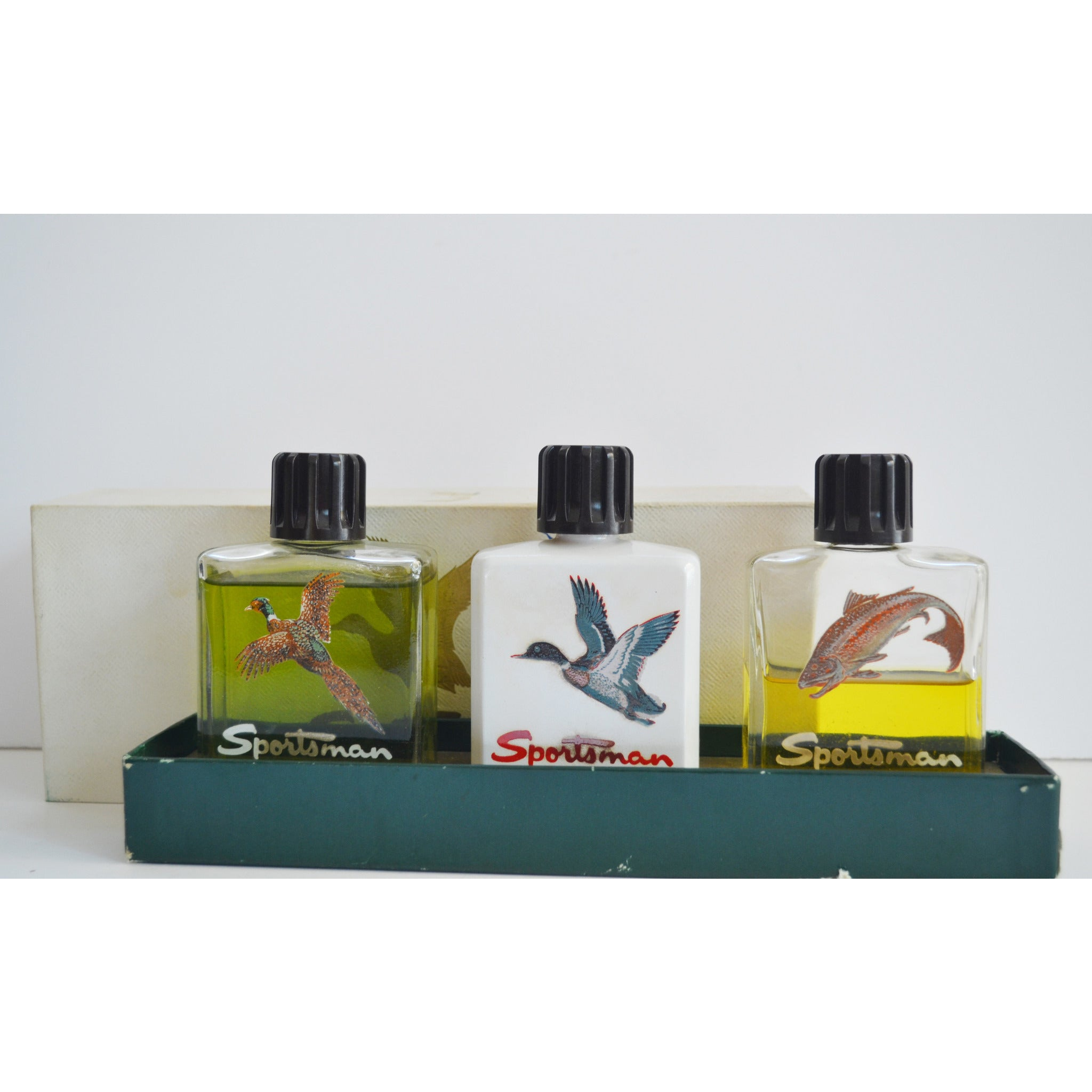 Vintage Sportsman Fragrance Trio Set By Houbigant