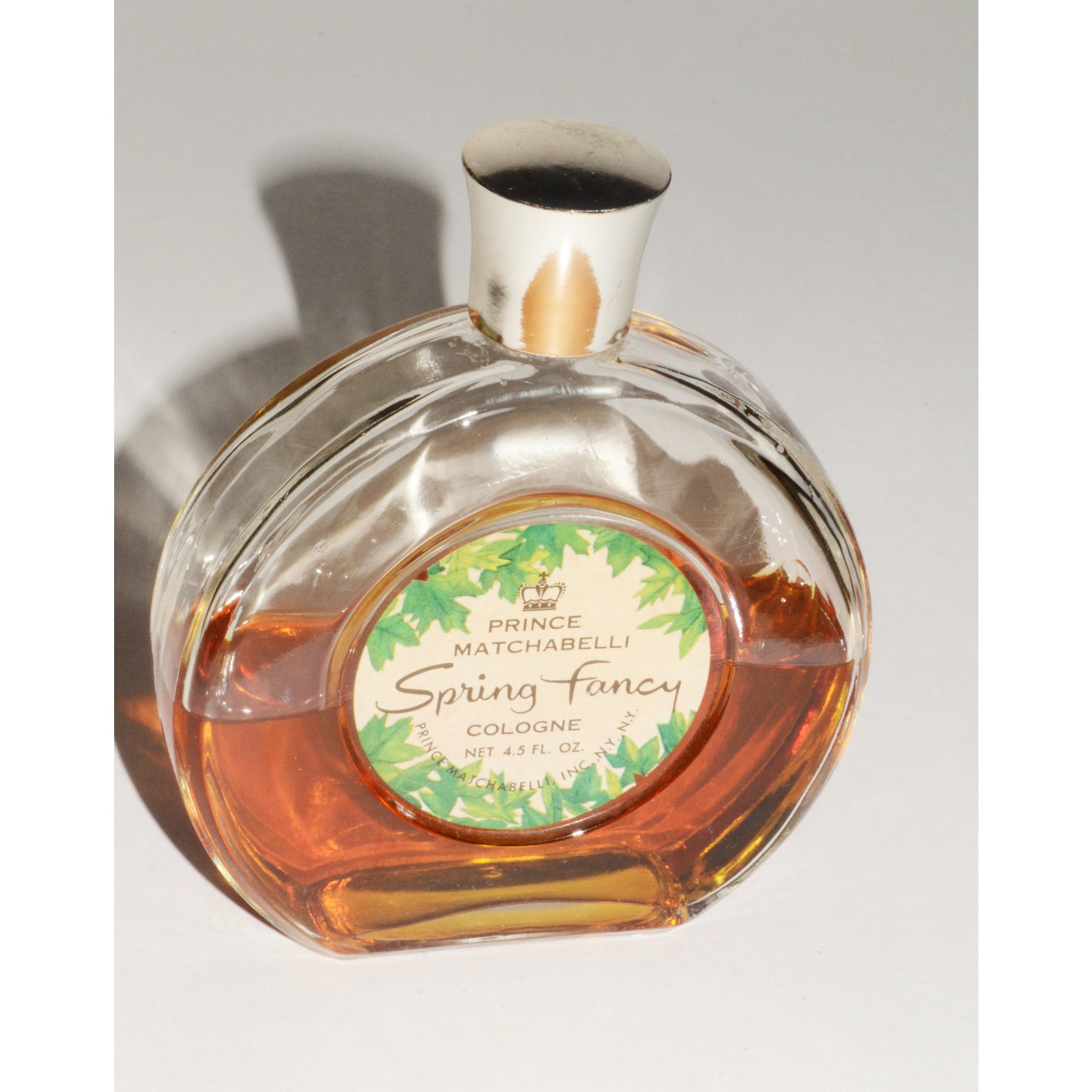 Vintage Spring Fancy Cologne By Prince Matchabelli