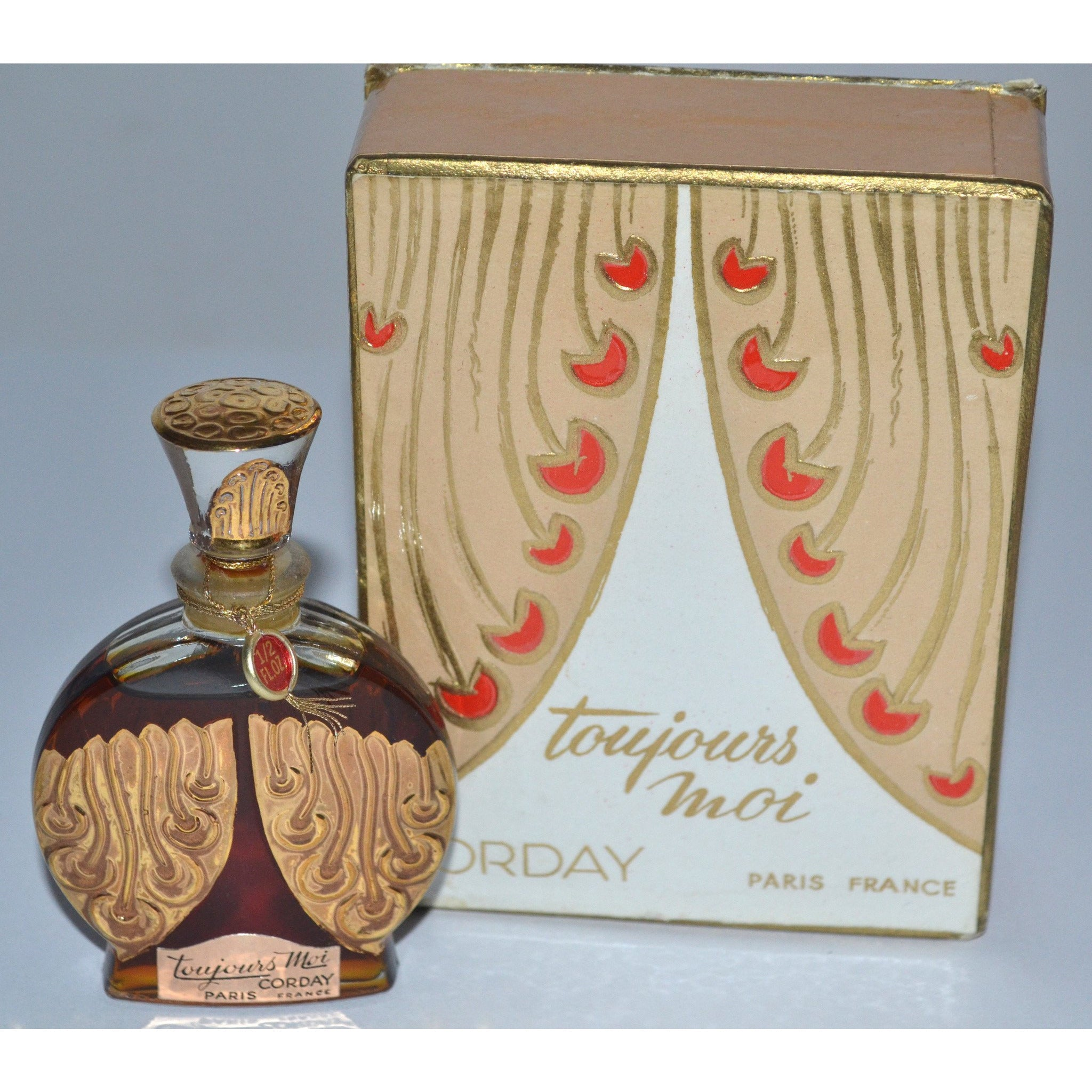 Vintage Toujours Moi Parfum By Corday