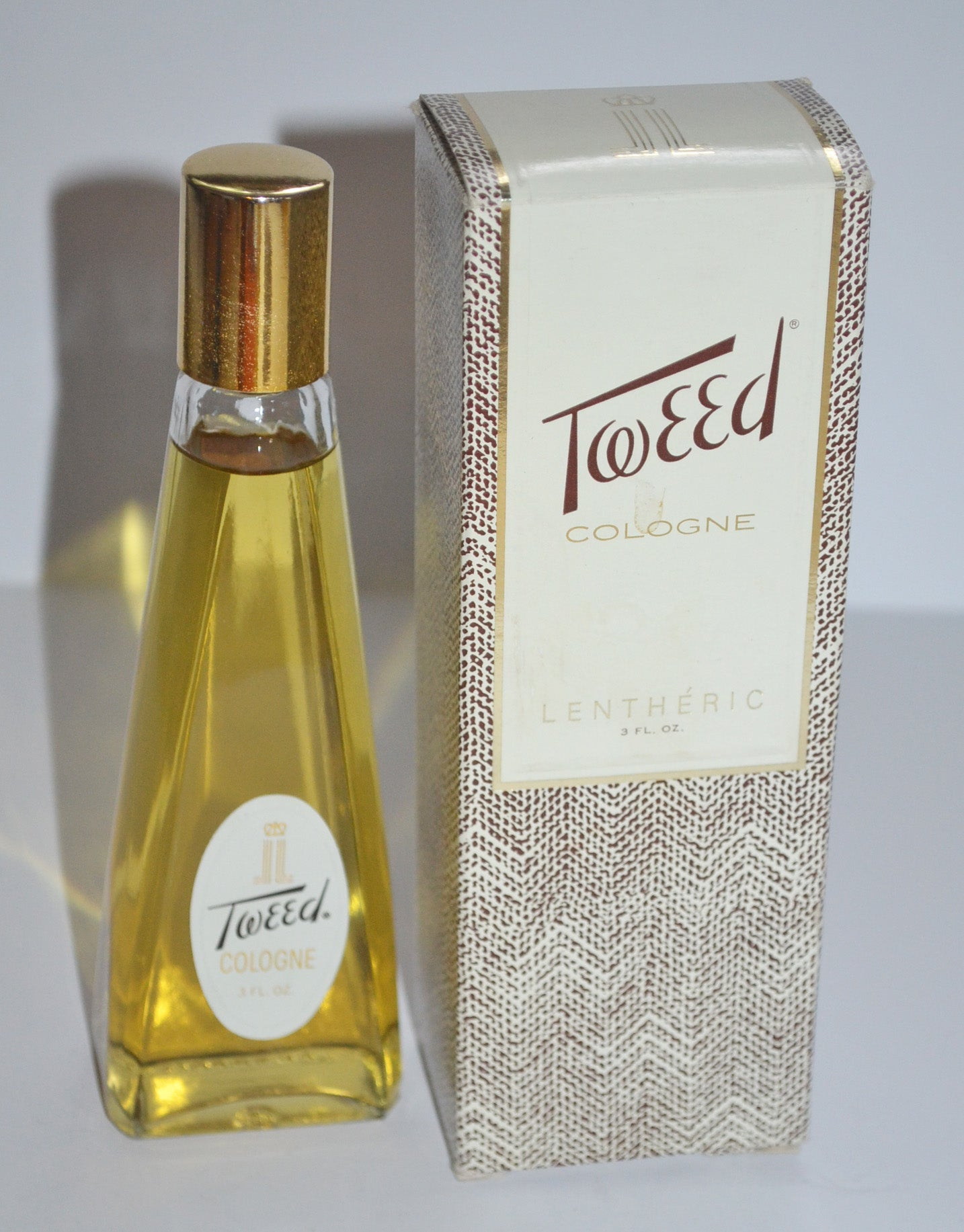 Vintage Tweed Cologne By Lentheric