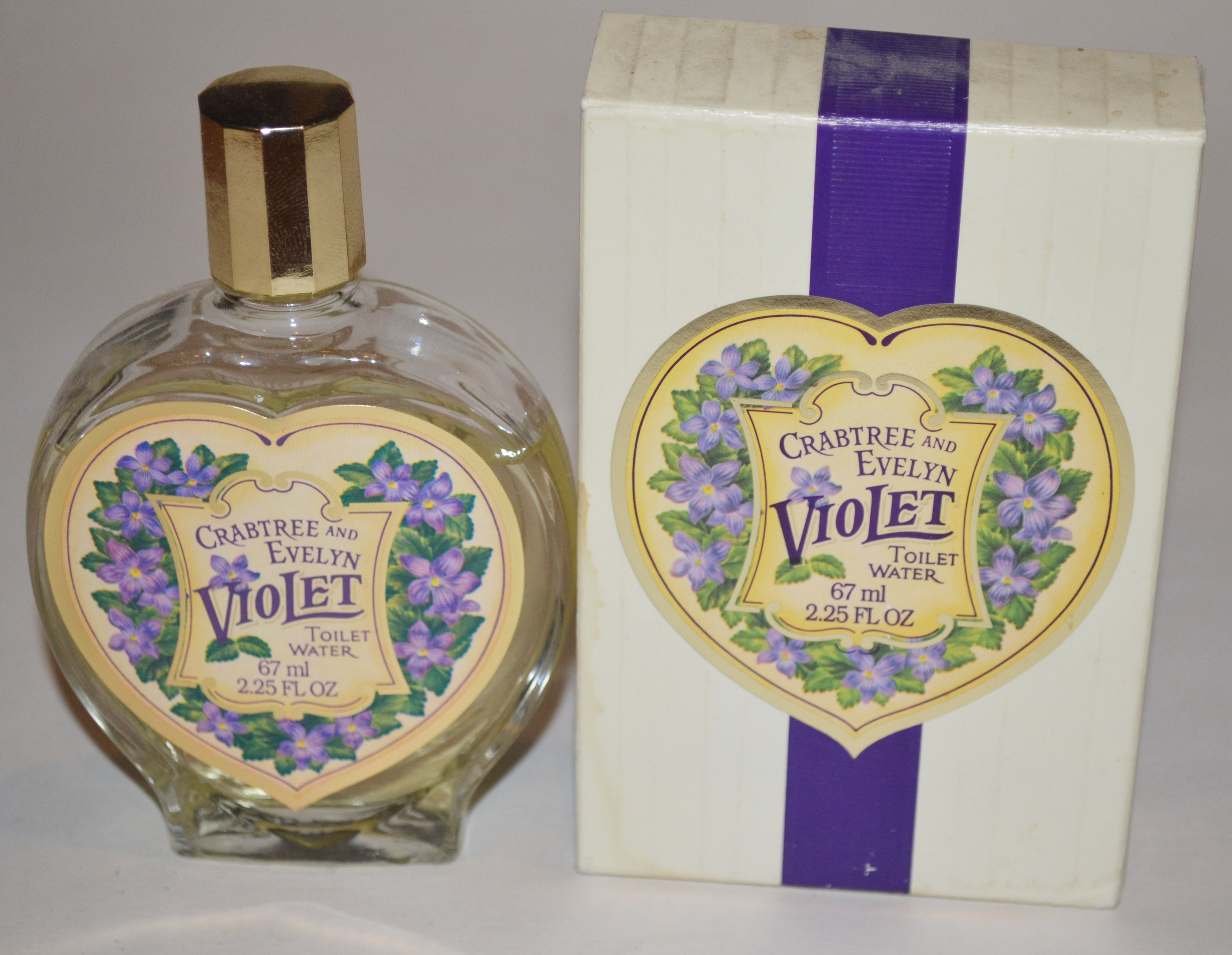 Vintage Violet Toilet Water By Crabtree And Evelyn