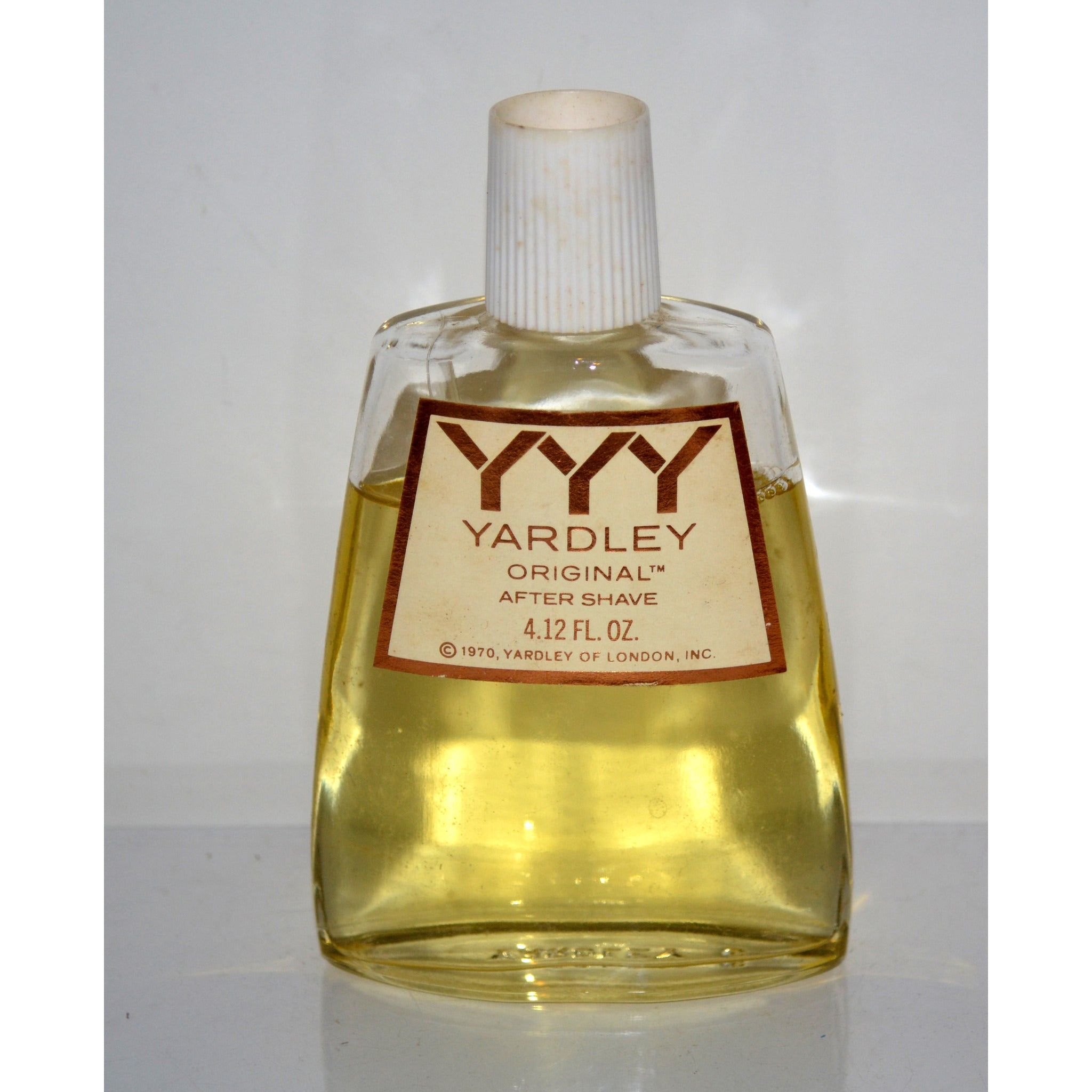 Vintage YYY Yardley Original After Shave
