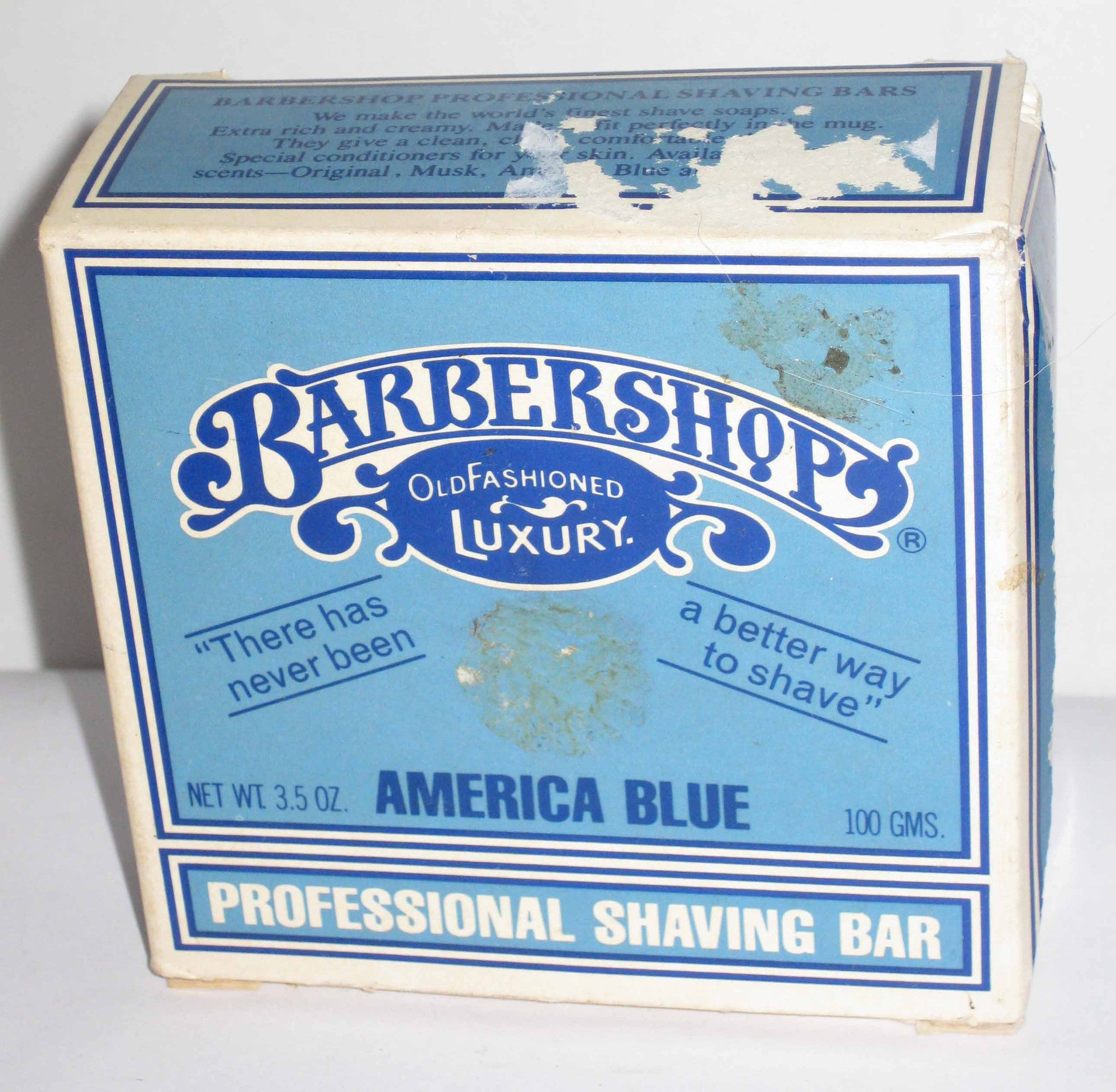 Barbershop Old Fashioned Luxury America Blue Musk Soap