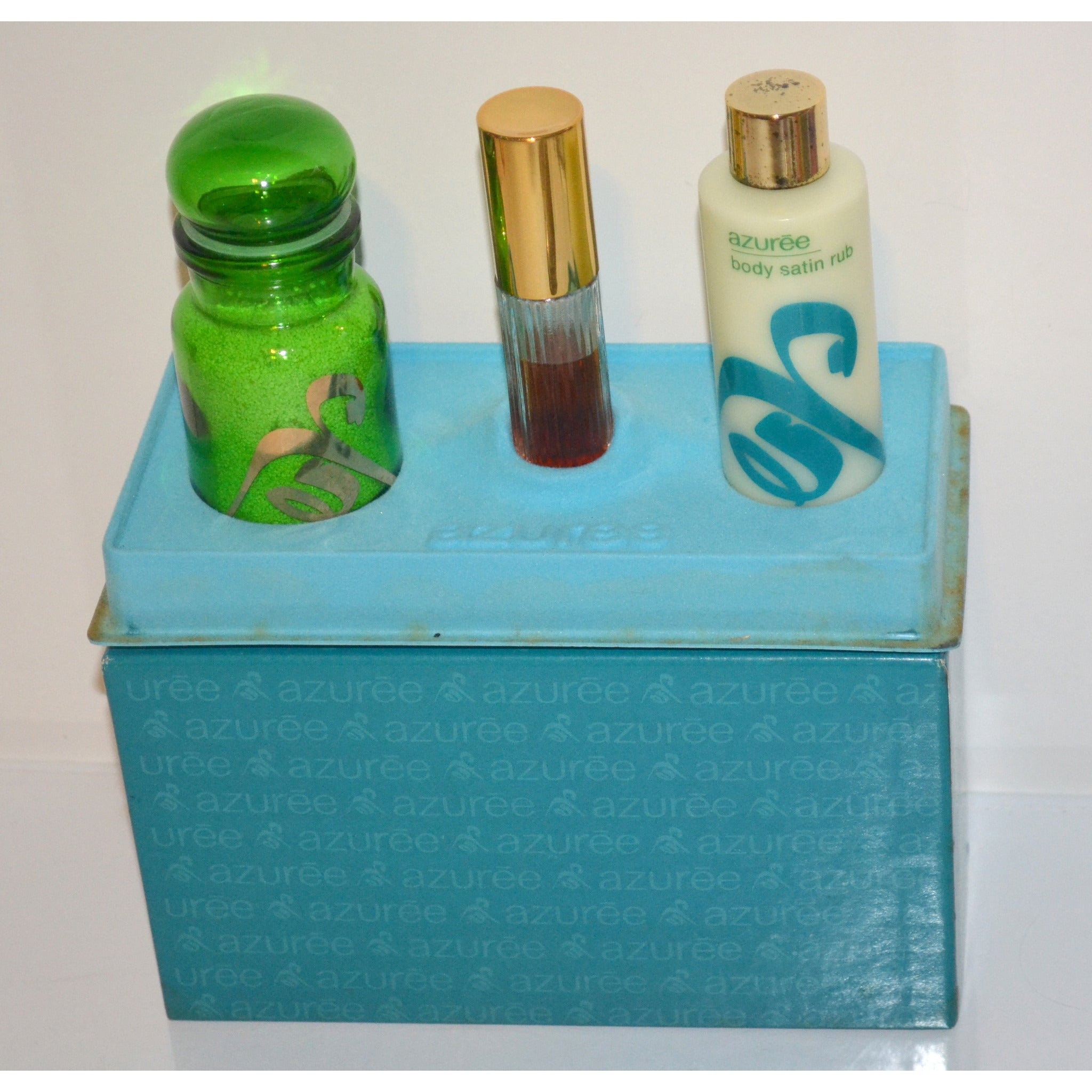 Vintage Azuree Gift Set By Estee Lauder