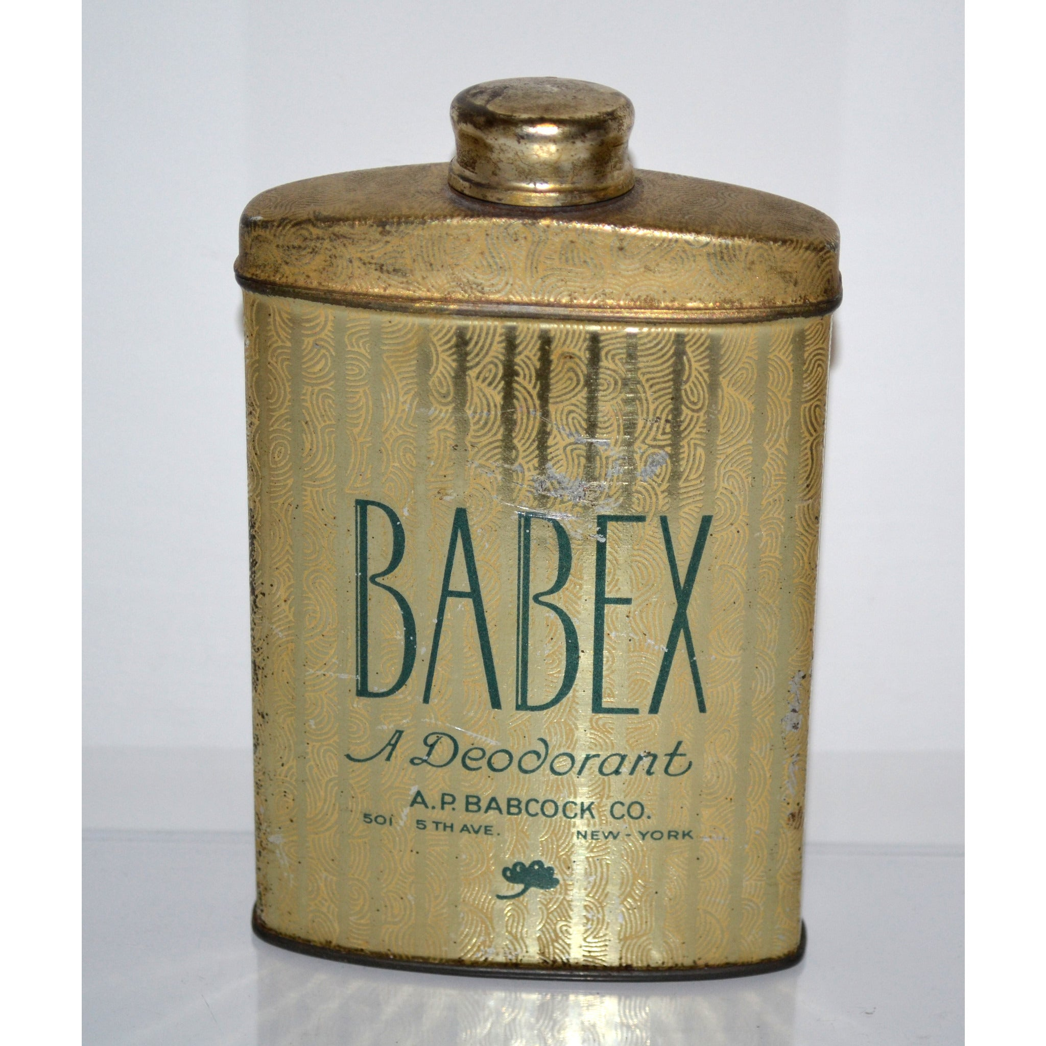 Vintage Babex Deodorant Talc By A.P. Babcock Co.