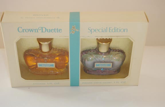 Prince Matchabelli Beloved Cologne Crown Duet