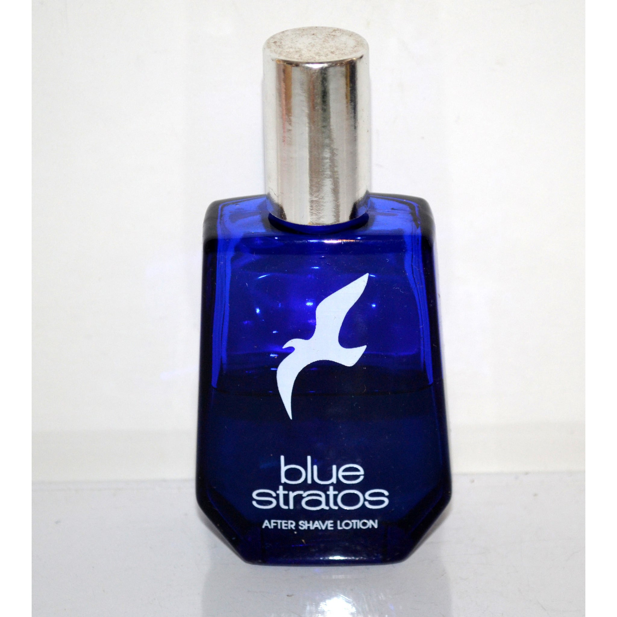 Vintage Blue Stratos After Shave By Shulton