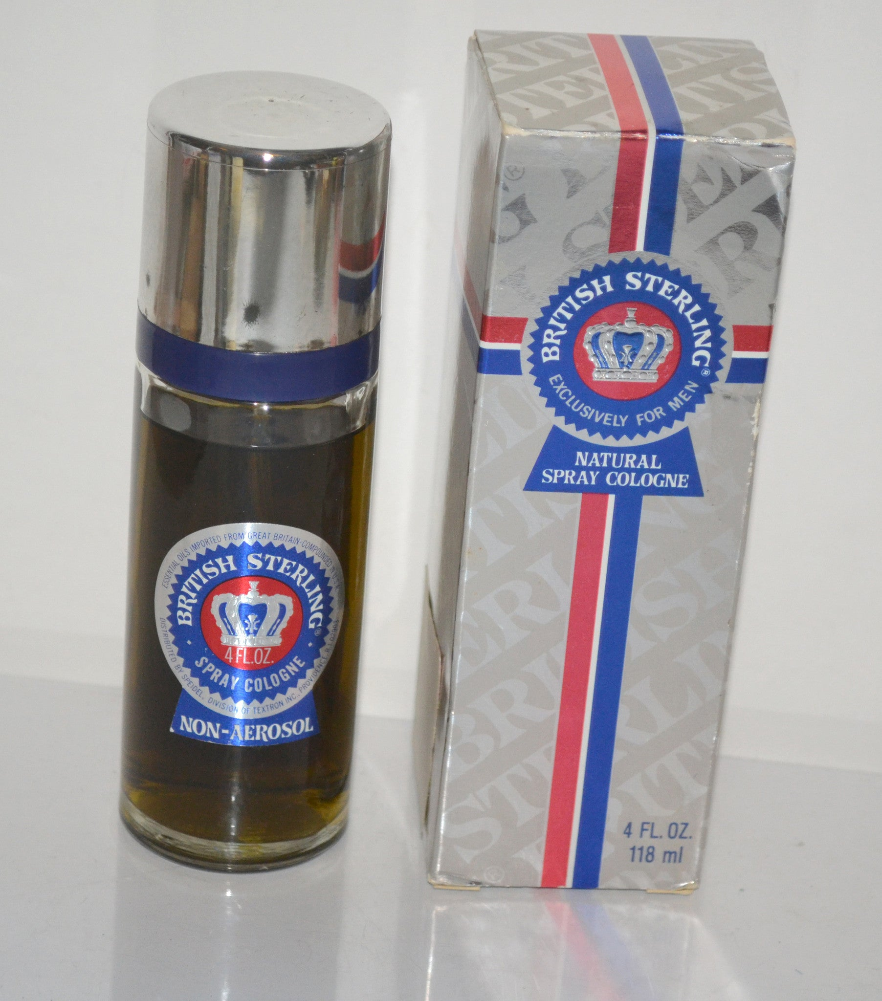 British Sterling Cologne By Speidel