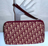 Vintage Christian Dior Monogram Red Clutch Purse