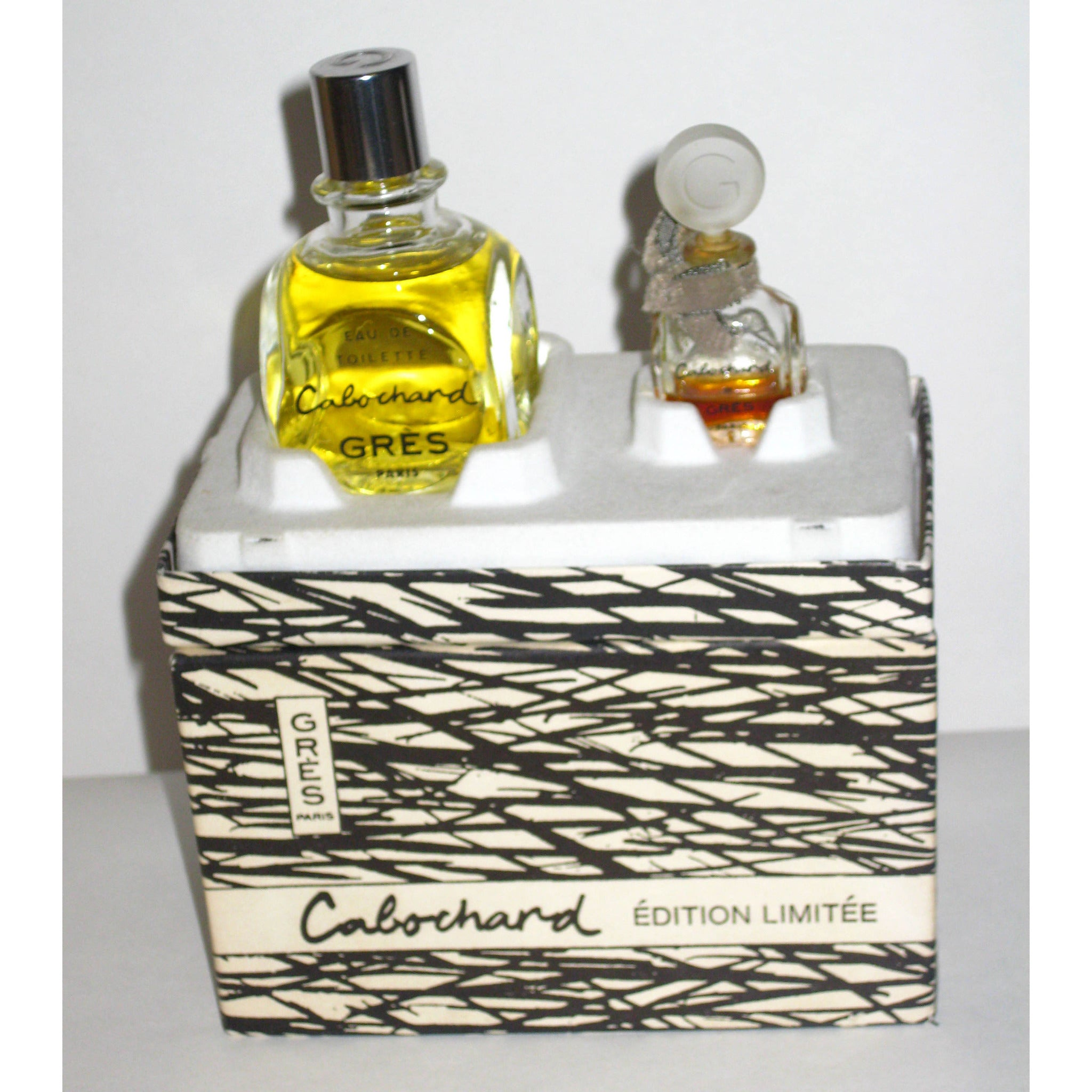 Vintage Cabochard Limited Edition Fragrance Set By Gres