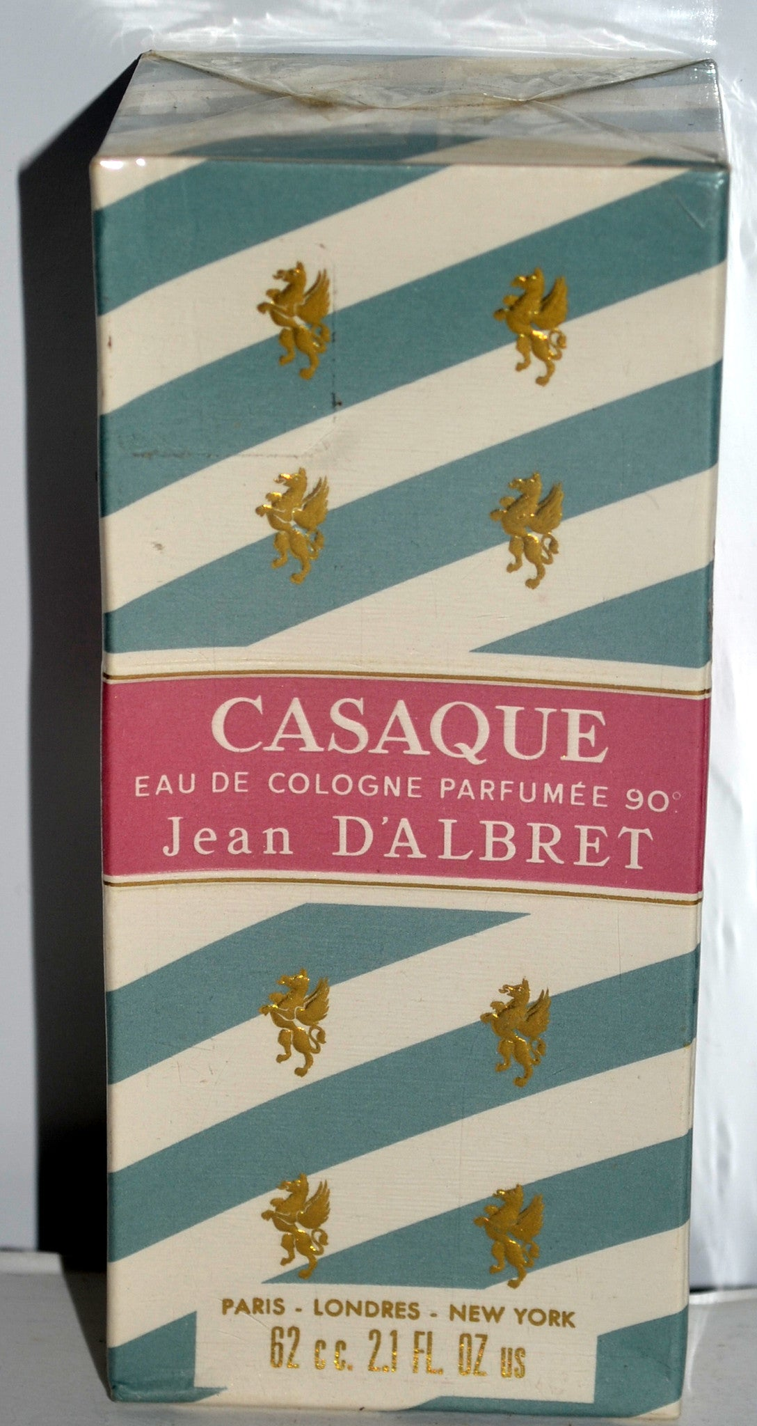 Vintage Casaque Cologne by Jean D'Albret